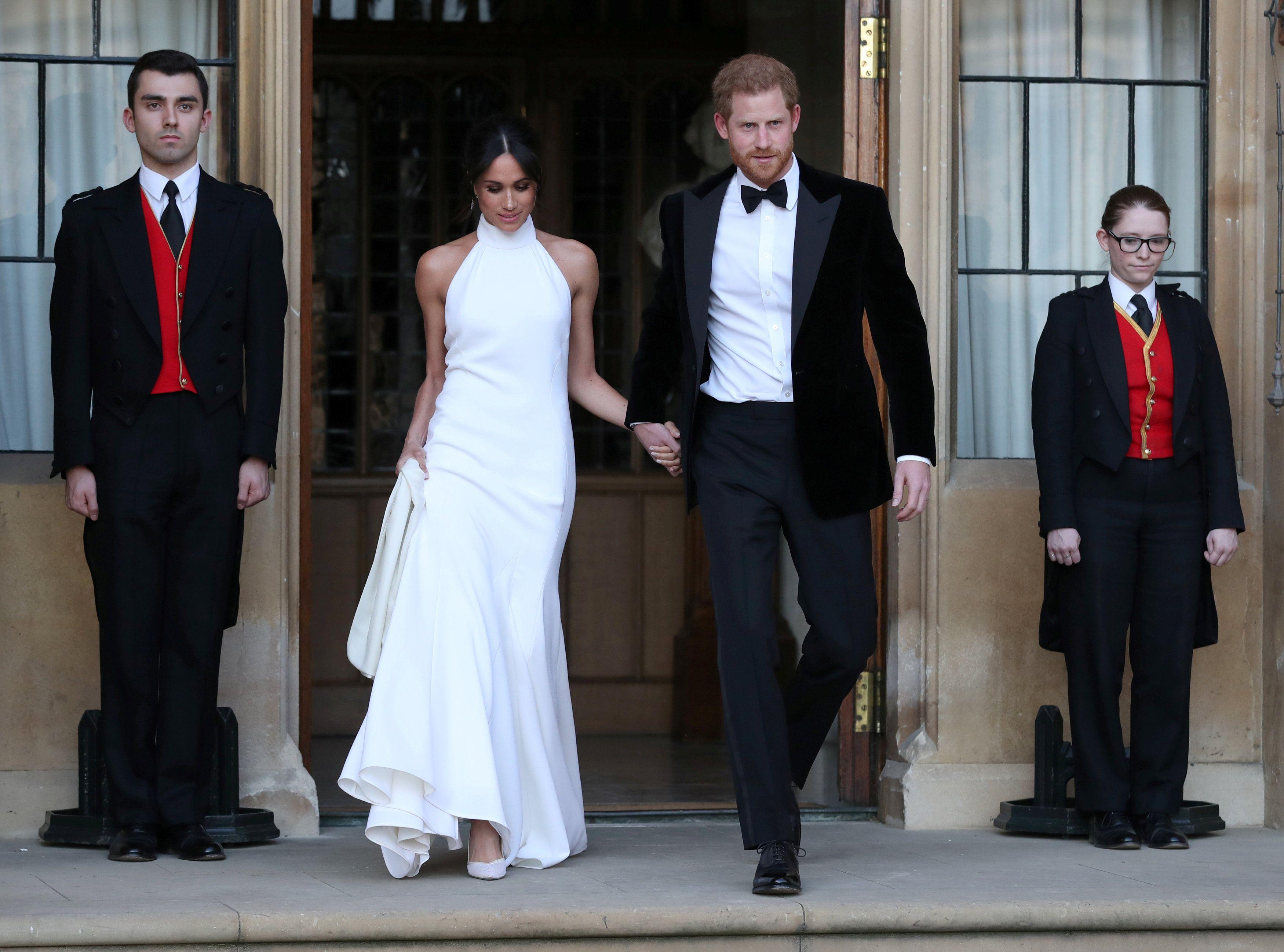 Otkriveno značenje iza haljine koju je Meghan Markle nosila na domjenku poslije vjenčanja