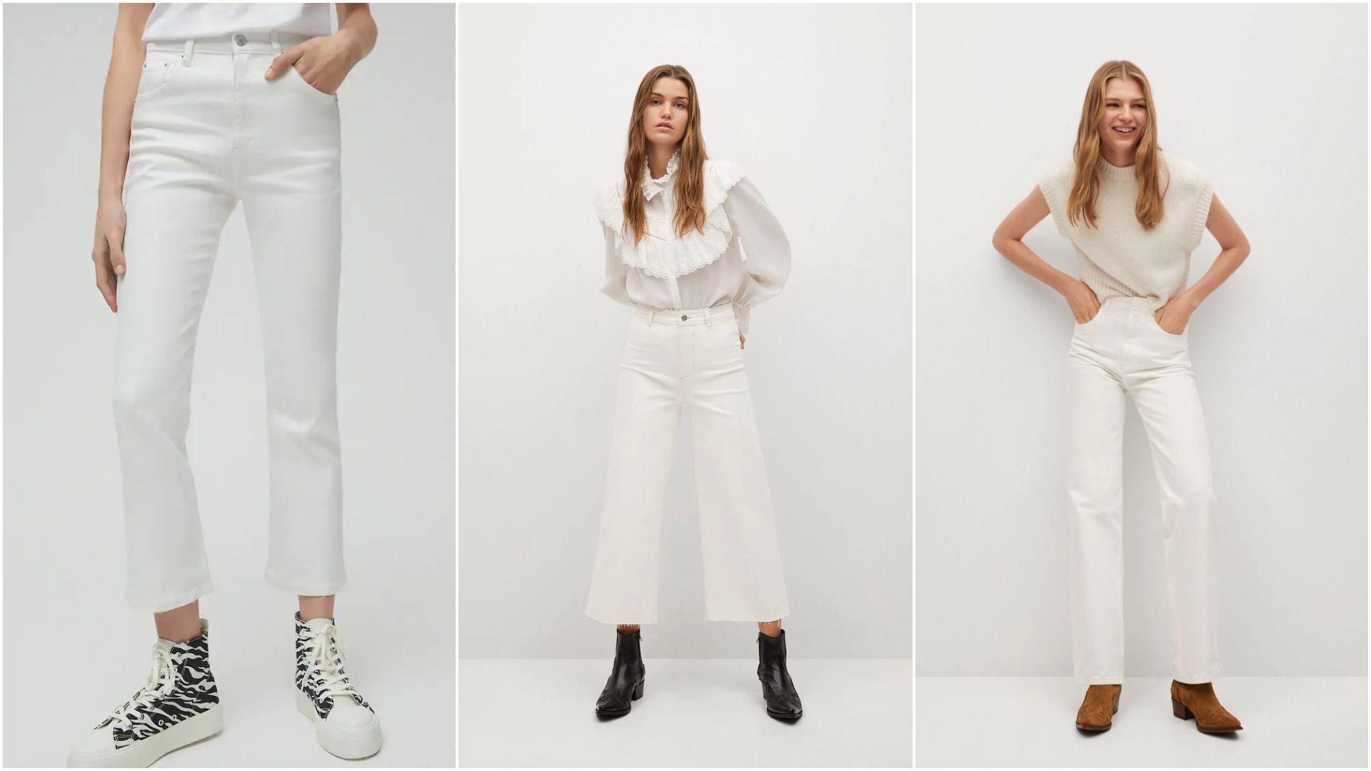 Bijele traperice klasik su kojem se uvijek vraćamo s toplijim danima, evo najljepših modela iz popularnih dućana