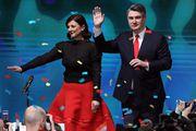 Elegantna kombinacija Sanje Musić Milanović, nove prve dame, za izbornu noć