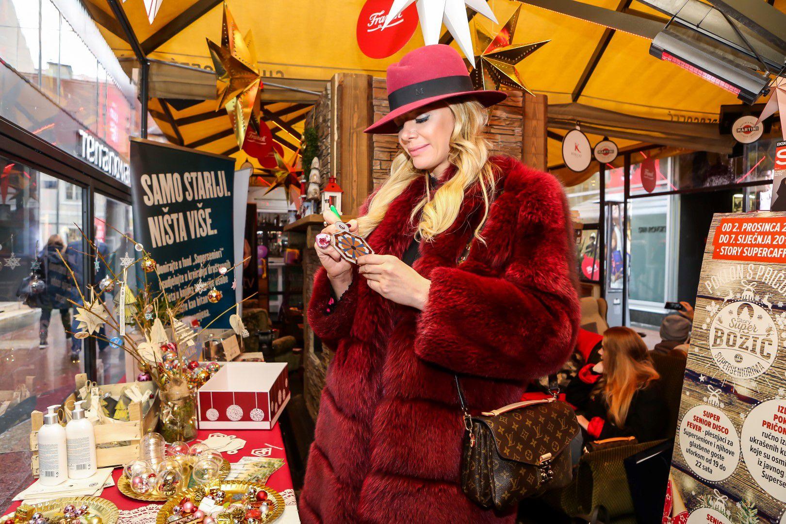 Aleksandra Dojčinović: Vrtoglavo skup šešir i dizajnerska torba dobitna su kombinacija za stylish zimu