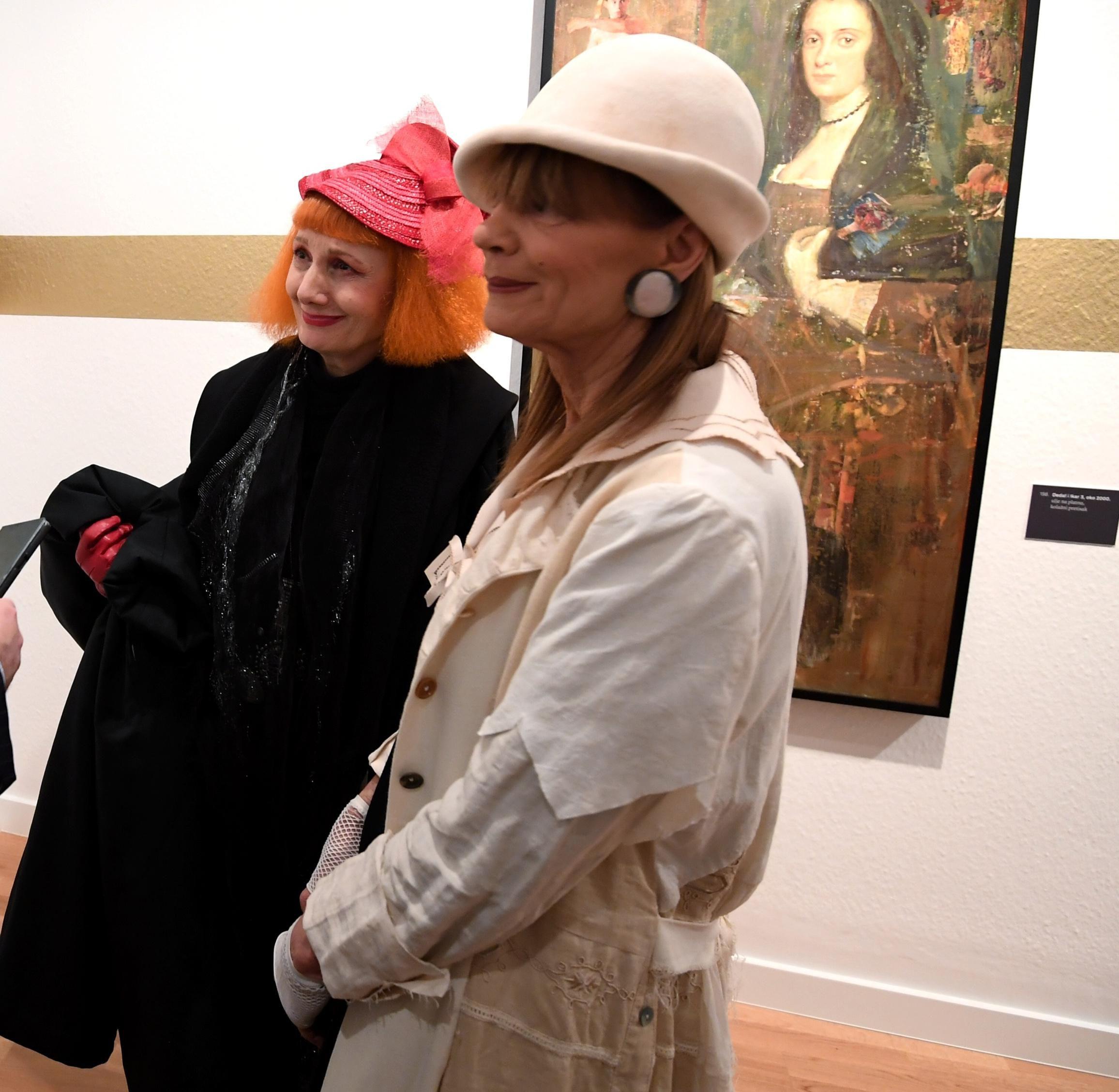 Đurđa Tedeschi i Josipa Lisac: Samo ove dvije dame mogu nositi tako jedinstvene stylinge!
