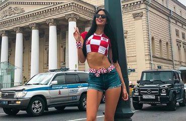 """Moskva gori! U najseksi outfitu do sad, lijepa Ivana poručila: """"Sutra prvaci!"""""""