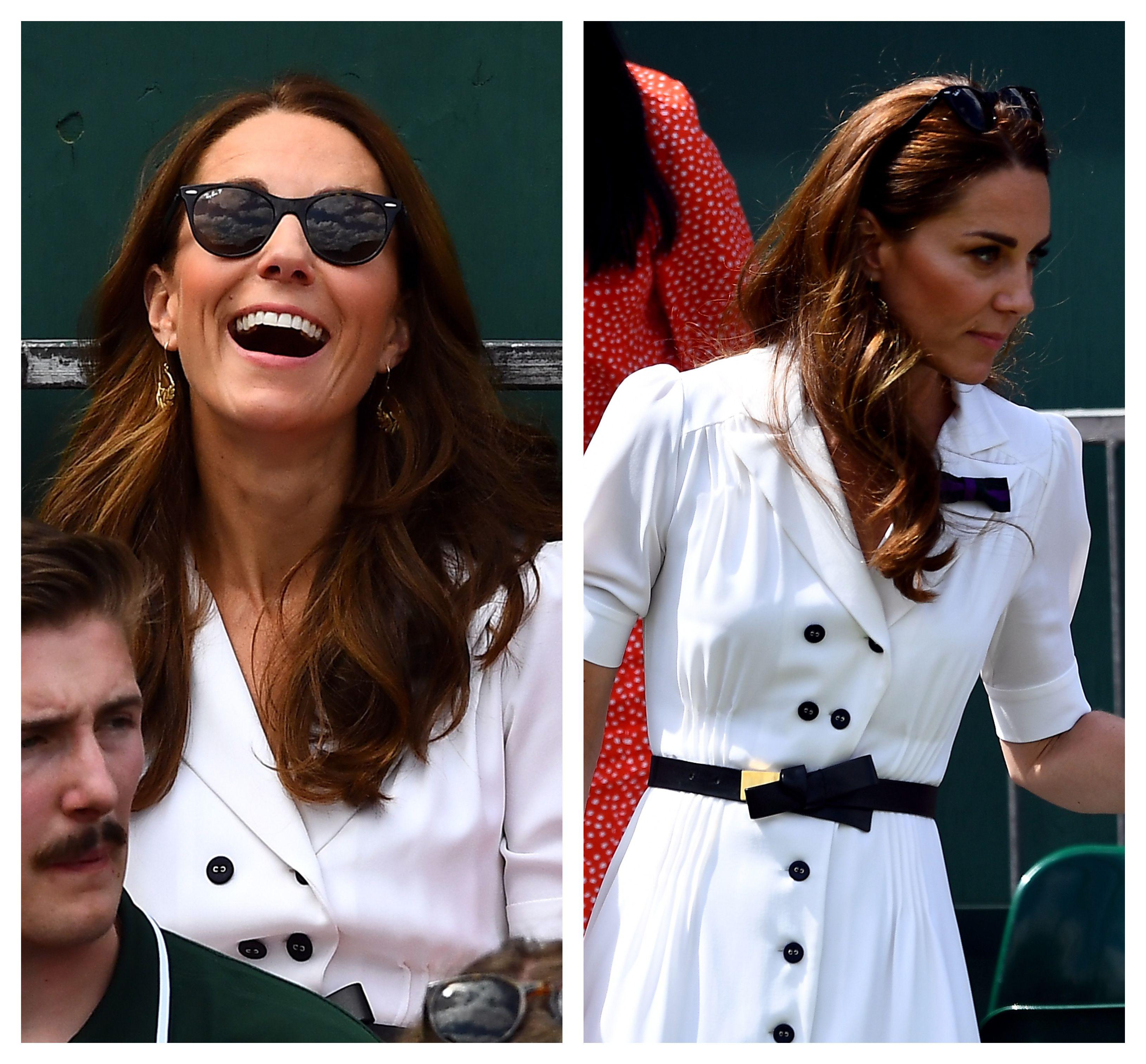 Kate Middleton na Wimbledonu se pojavila u izdanju u kakvom je ne viđamo često