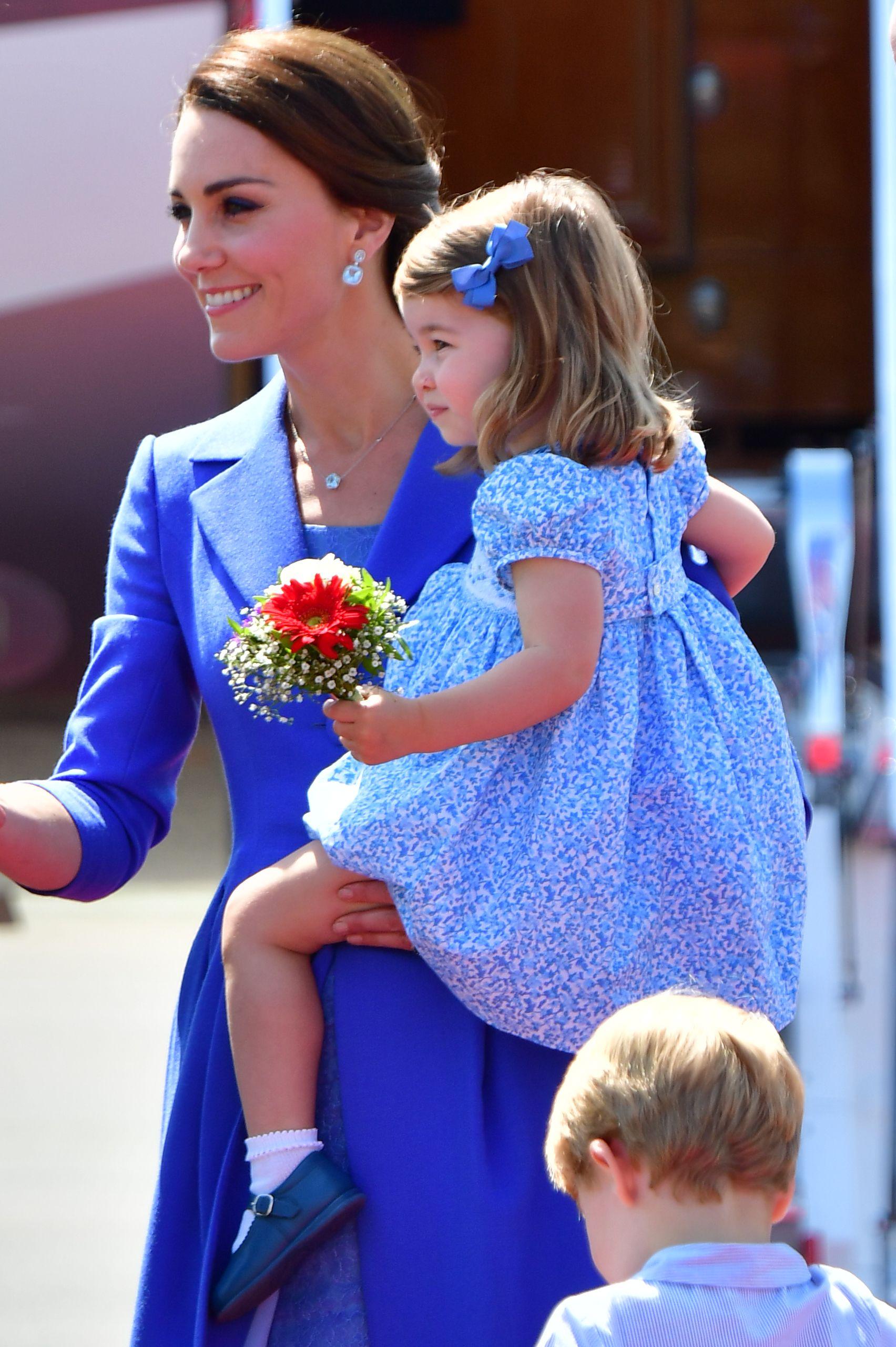 Charlotte ukrala cijeli show pri kraljevskom posjetu Berlinu