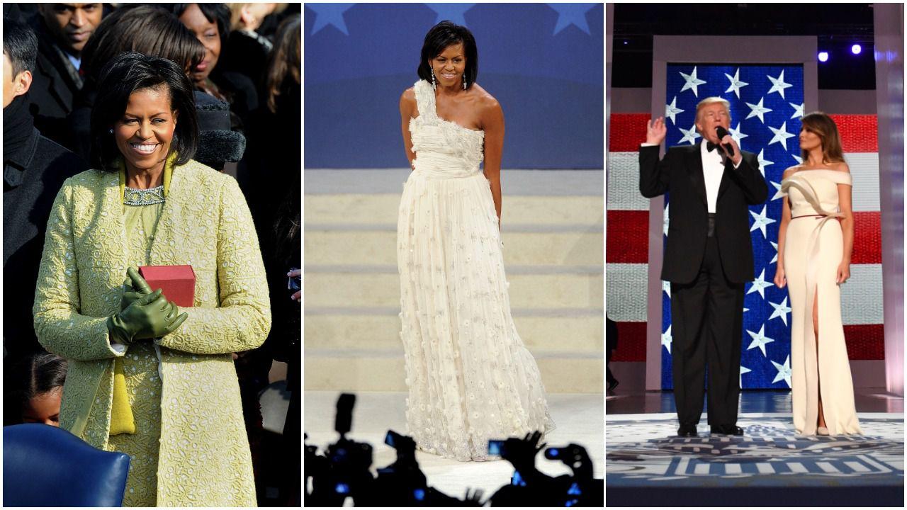 Prisjetili smo se kombinacija prvih dama za inauguraciju od pedesetih godina pa do danas