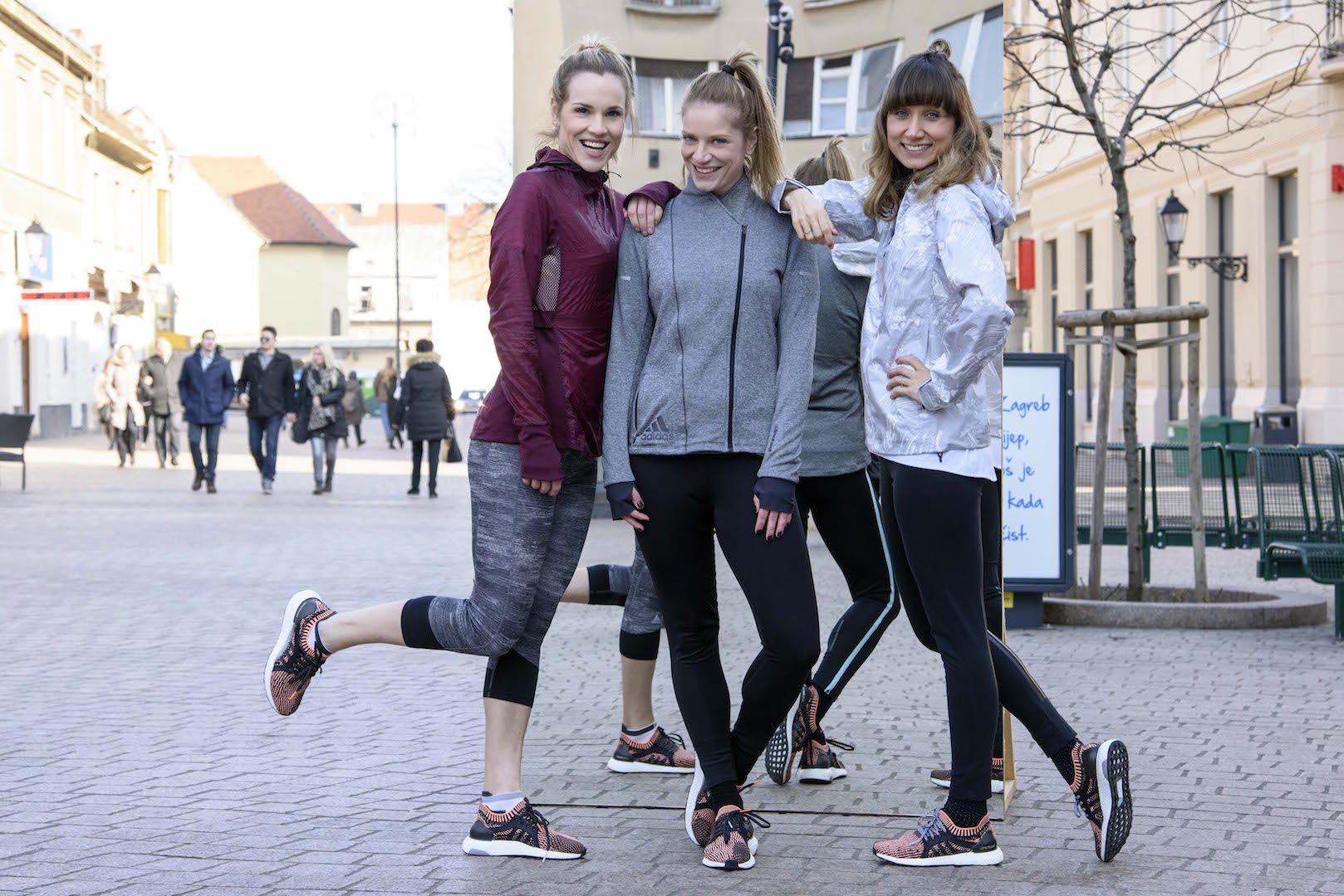 Redefiniranje trčanja  za žene uz Adidas i poznate Hrvatice