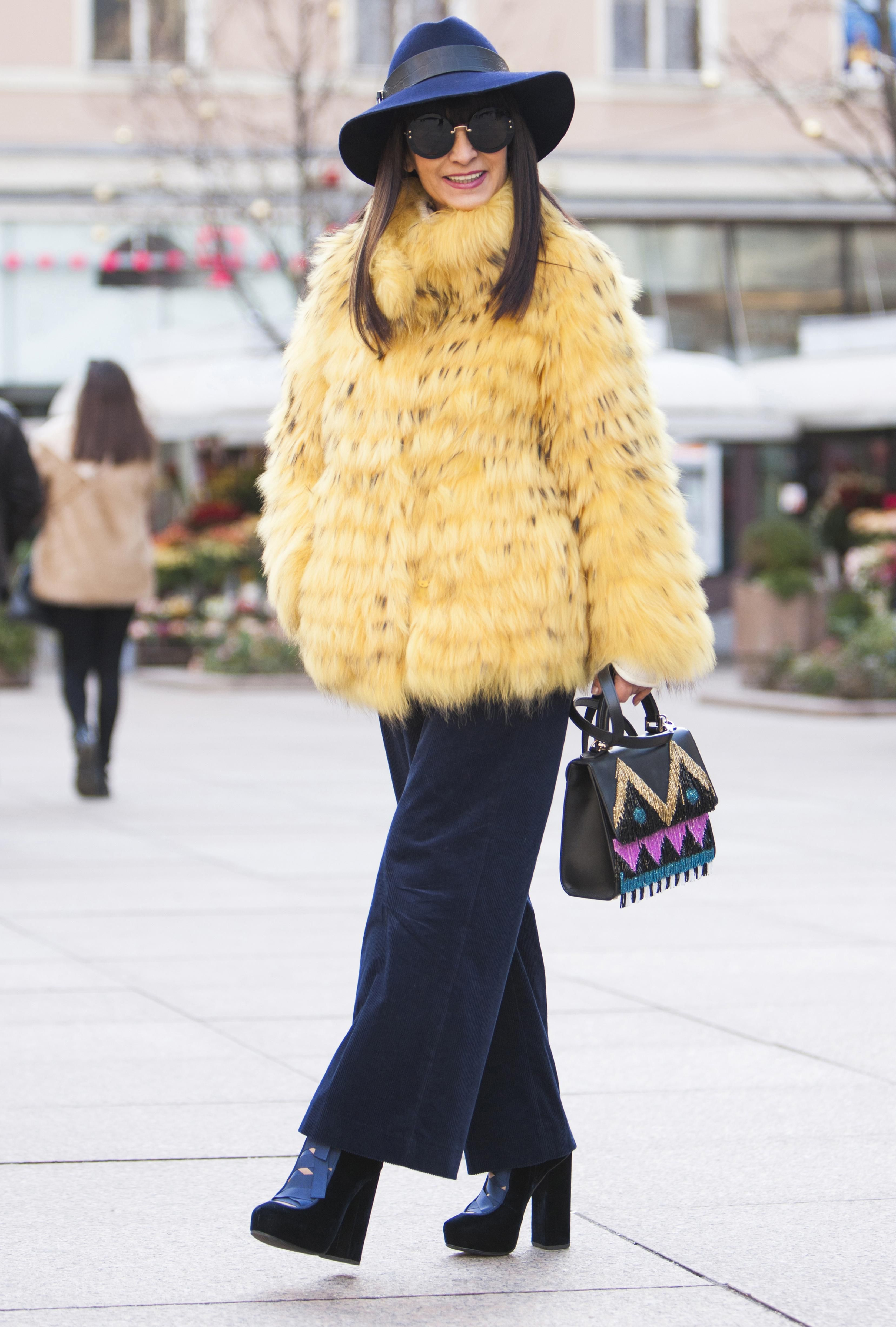 """Matija Vuica: """"Iako mi ormar zimi pocrni pa se jedva snalazim što bih odjenula, ova me žuta bundica  totalno kupila!"""""""