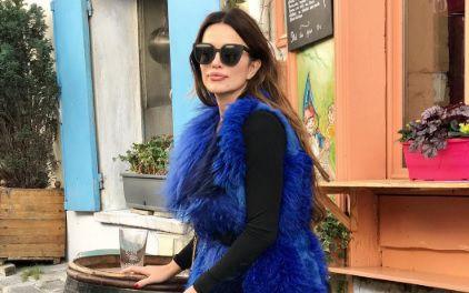 Severina: seksi mrežaste čarape i raskošna bunda za šetnju Parizom