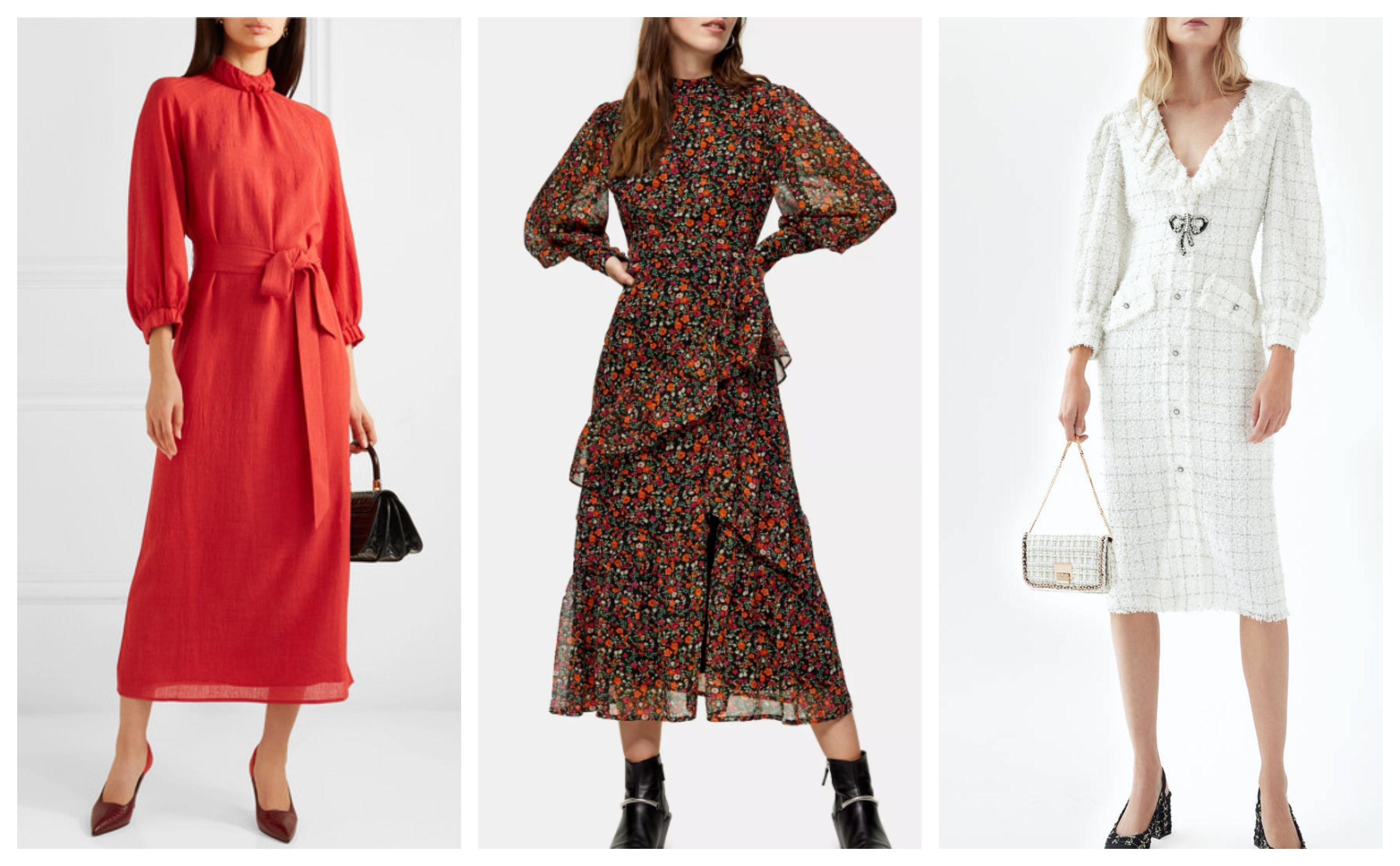 Midi haljine idealne su za stylish poslovne kombinacije! Donosimo vam 19 prekrasnih iz high street dućana