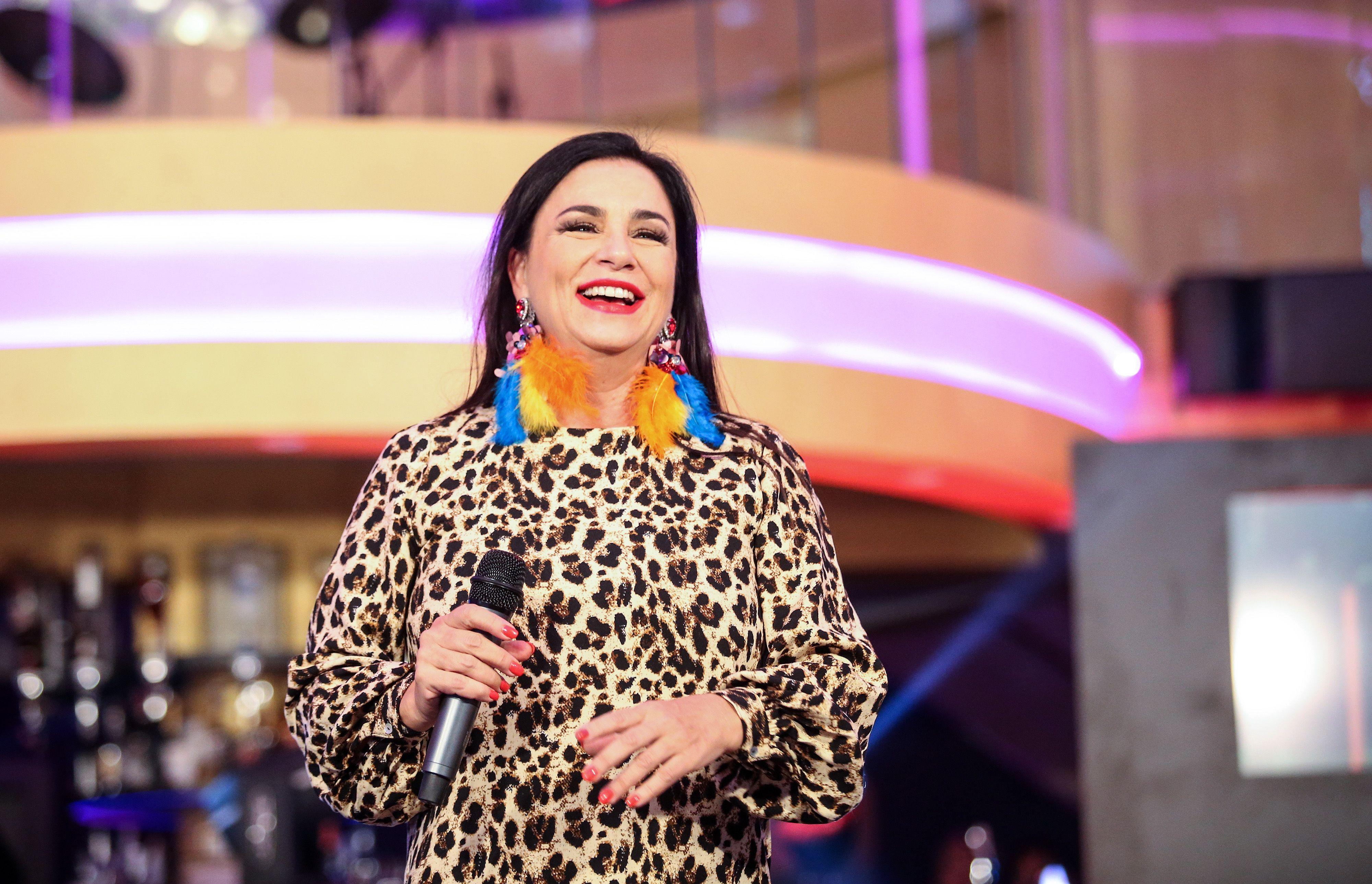 Alka Vuica ne odustaje od svog modnog izričaja u leopardu od glave do pete!