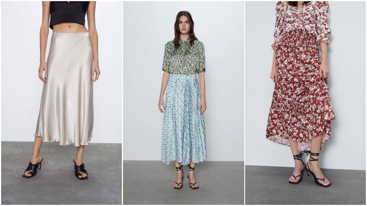 I ovog proljeća nosimo midi suknje: Izdvojili smo najljepše Zarine modele o 99 kn
