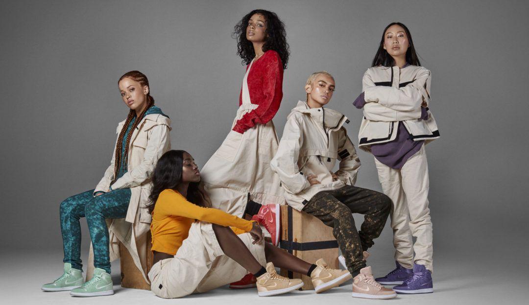 """Stigle popularne """"Jordanice"""" u ženskom izdanju od satena i brušene kože"""