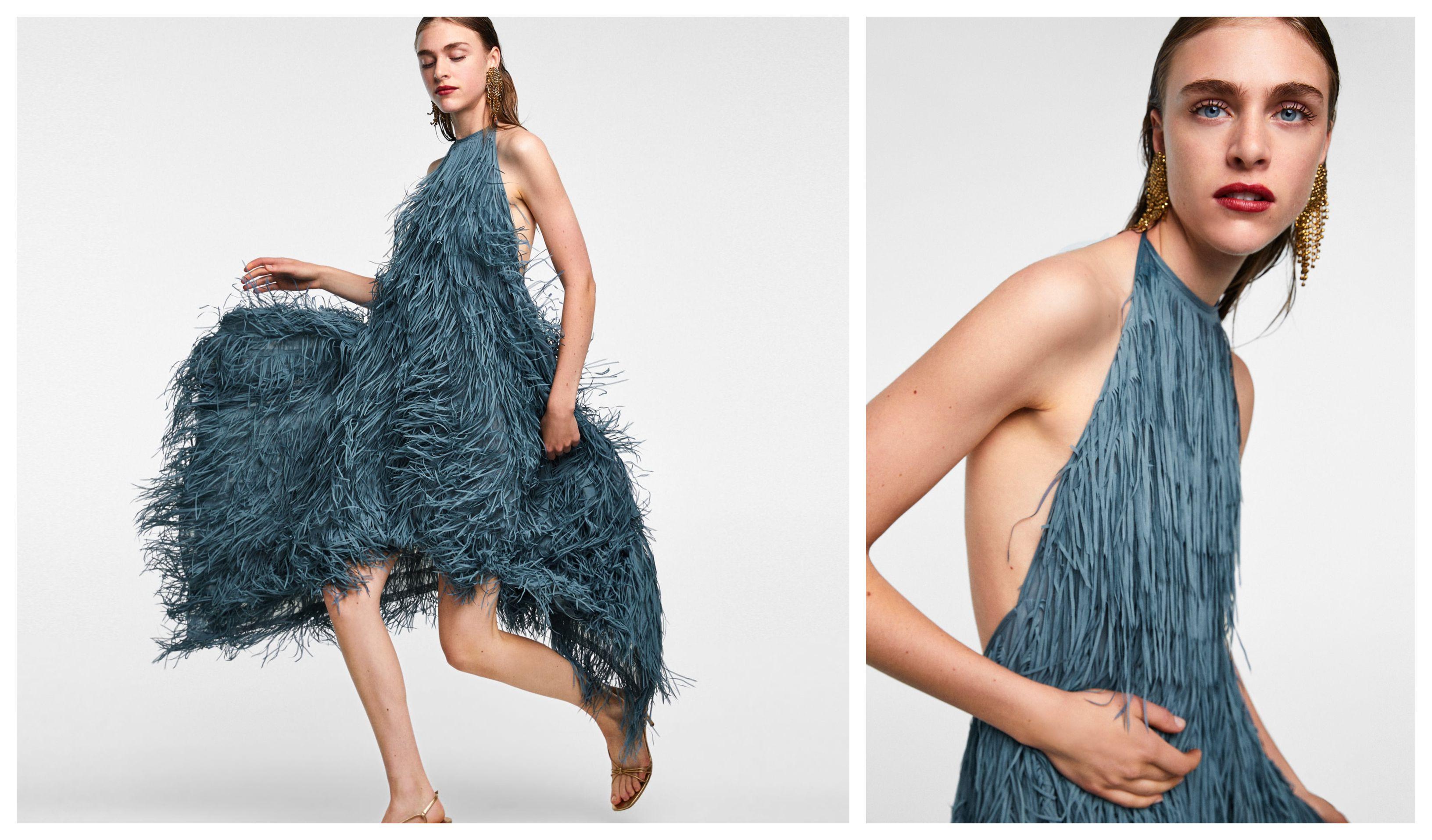 Koliko ste dramatični od 1 do ove Zarine haljine? Odličan novi model stigao u dućan