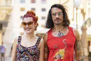 Mirna & Miran: 'Toliko je vruće da bismo najradije šetali goli, a slučajno smo usklađeni bojama'