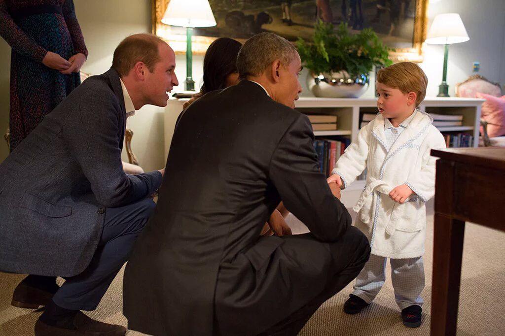 Princ George oduševio predsjednika Obamu i prvu damu