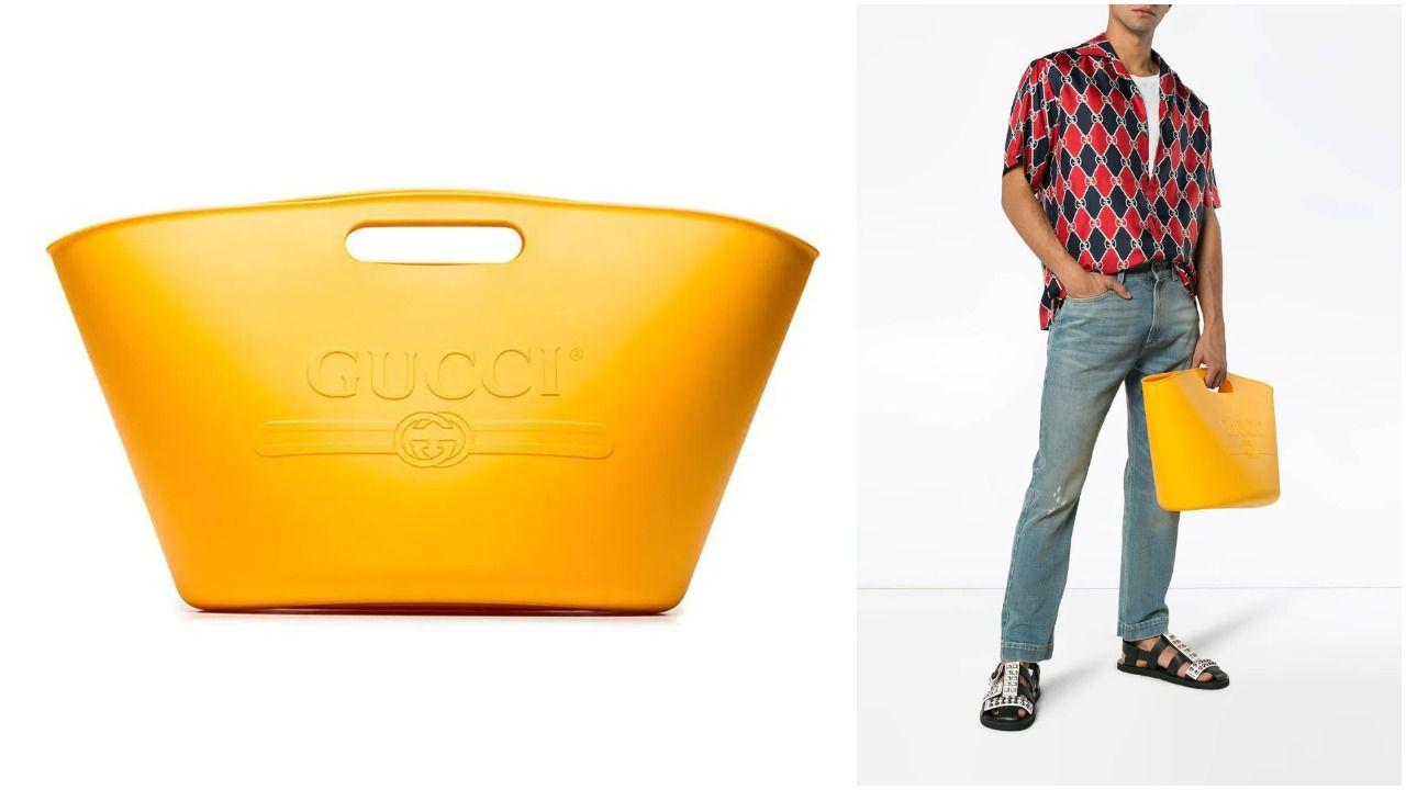"""DIzajnerska muška torba postala predmet zafrkancije na Twitteru: """"Izgleda kao košara za rublje"""""""
