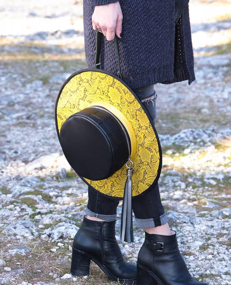 Šešir na ramenu - torbice branda Mandval