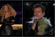Najzanimljivije kombinacije s dodjele Grammyja: Harry Styles u genijalnom kožnom odijelu, Beyoncé u mini haljini...