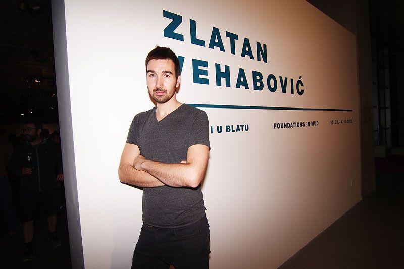 Prva samostalna izložba Zlatana Vehabovića