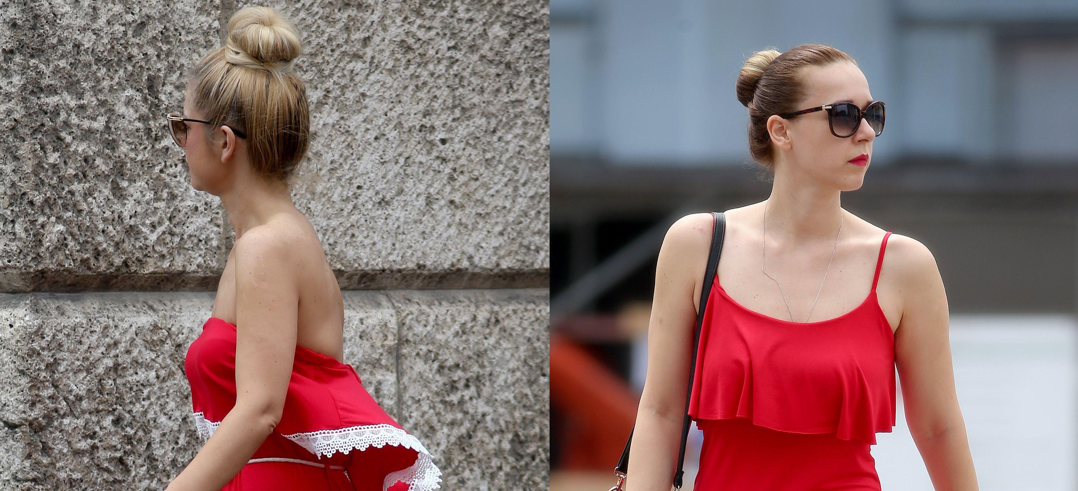 Ove dvije dame znaju kako je crvena boja definitivno najveći ljetni hit