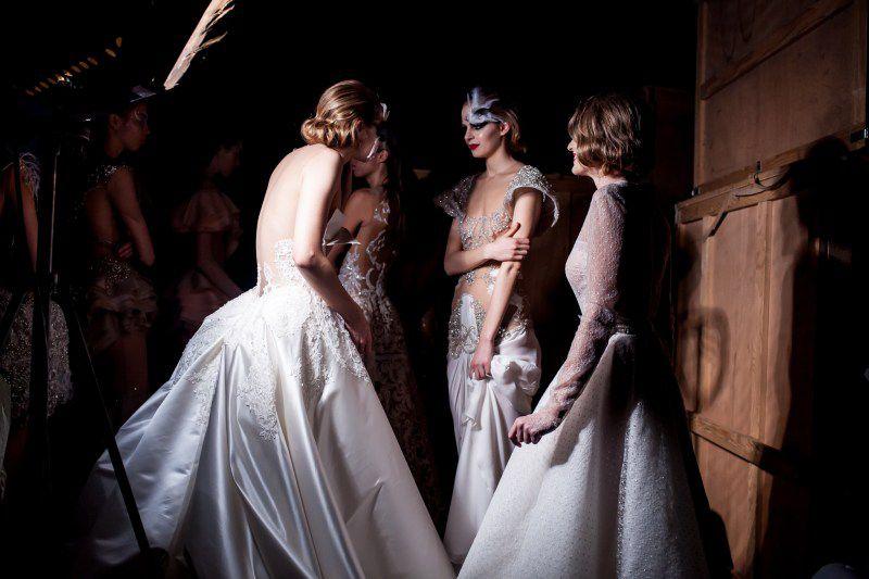 Iza kulisa Diva Fashion Balleta by Matija Vuica Couture