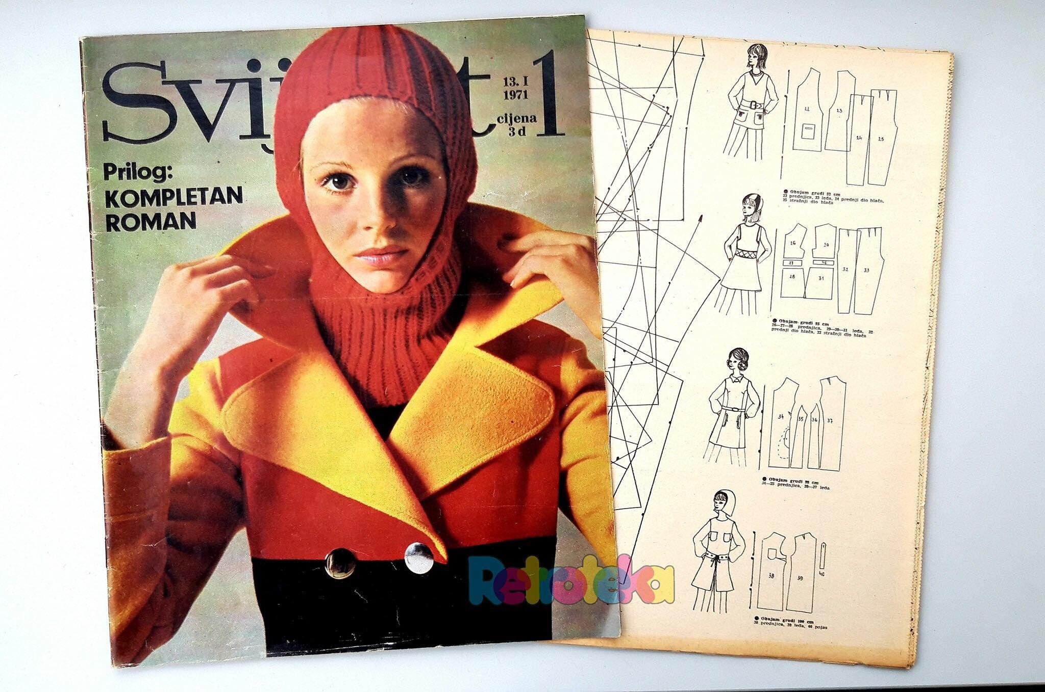 Wow! Ova modna naslovnica s početka sedamdesetih godina i danas izgleda genijalno!