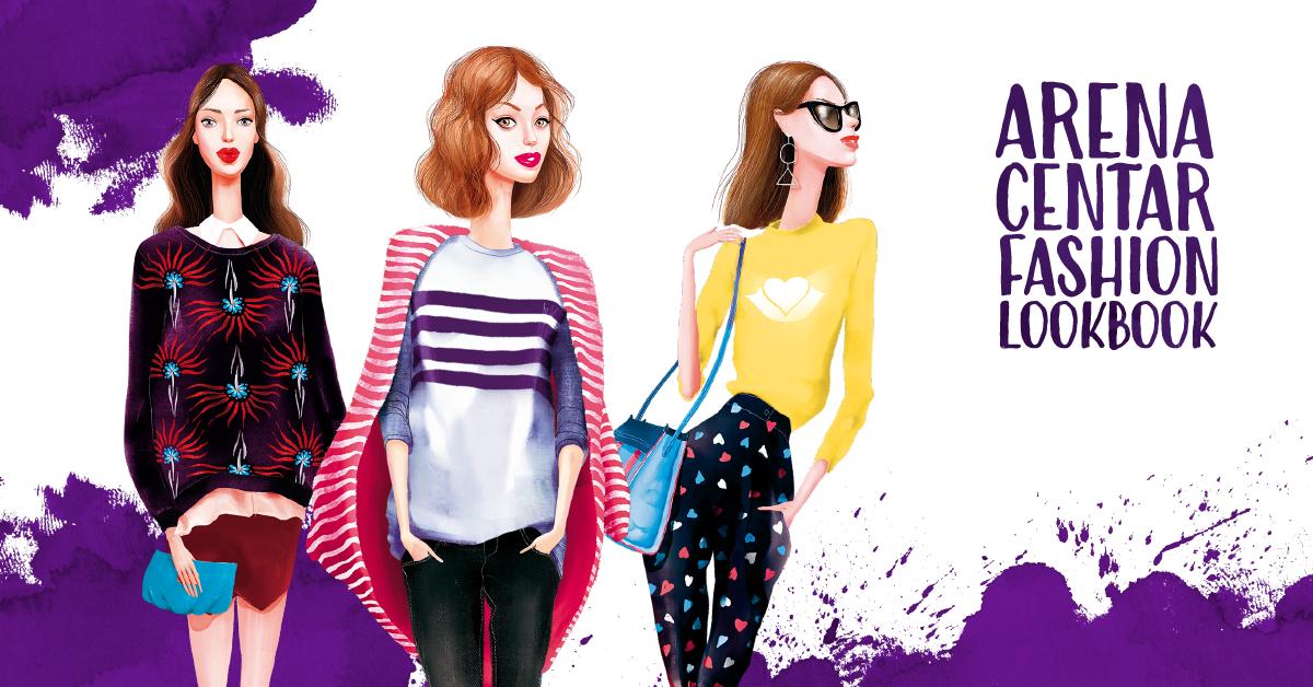 Arena Centar predstavlja Fashion Lookbook najnovijih kolekcija za proljeće i ljeto