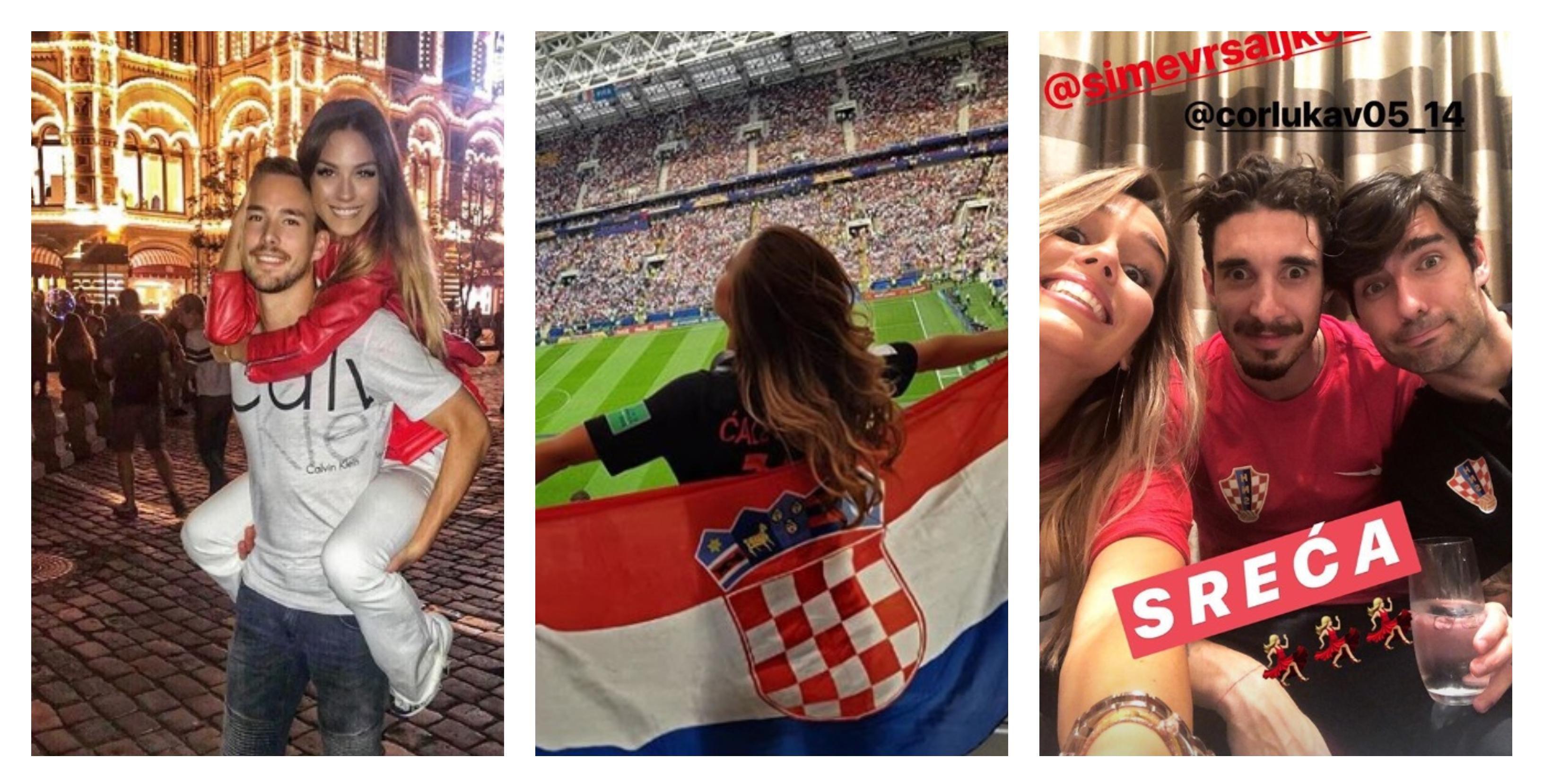 Ponos, sreća, ljubav... Pogledajte kako su pobjedu proslavile djevojke i supruge naših nogometaša