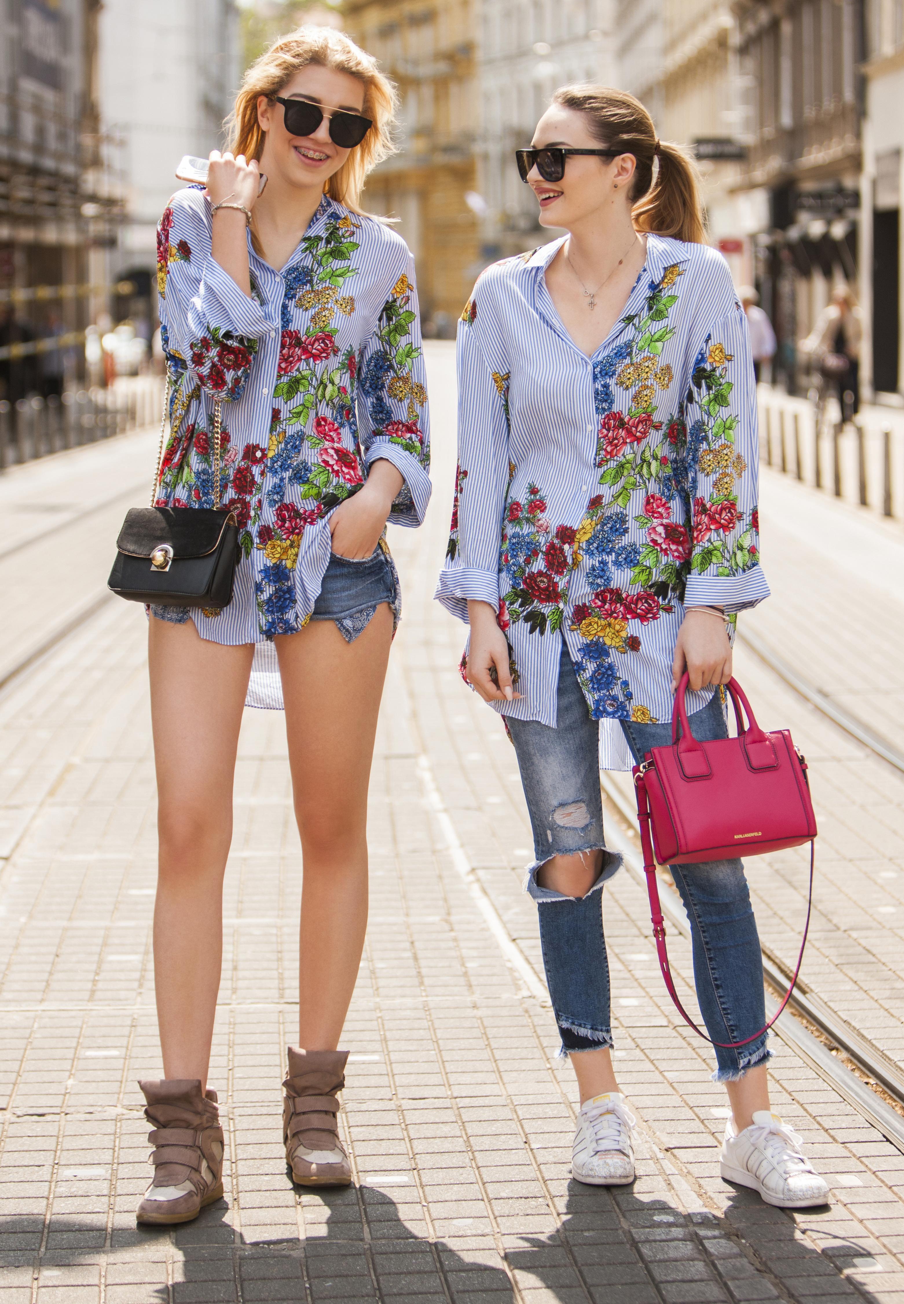 """Friendship goals: """"Kupujemo slične stvari, pa se slučajno dogodilo i da kupimo iste košulje"""""""