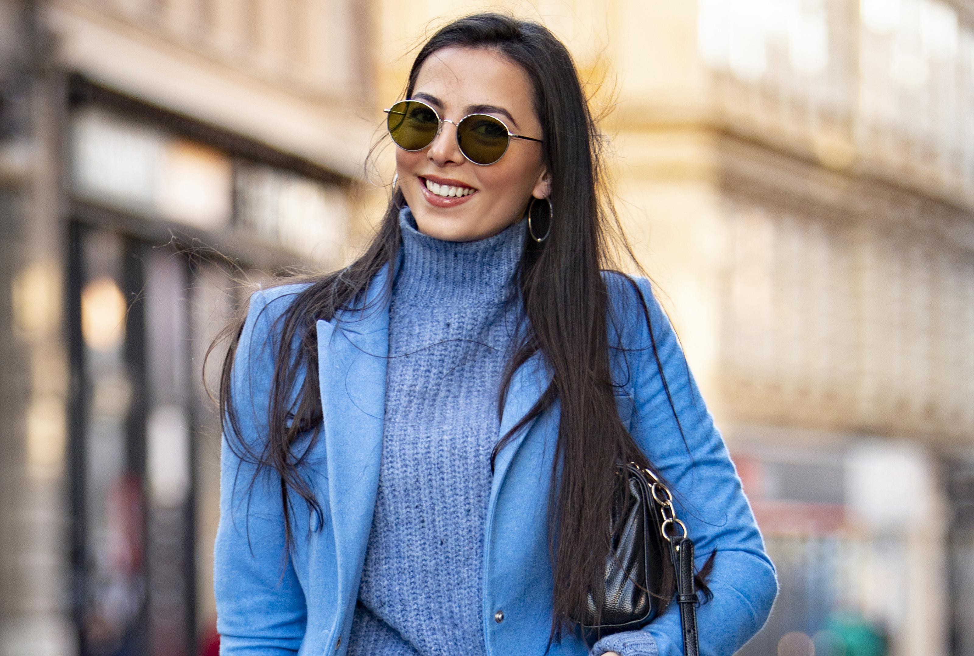 """Studentica ekonomije: """"Izabrala sam plavo jer simbolizira slobodu - kad sam zauzeta, rijetko nosim plavo!"""""""