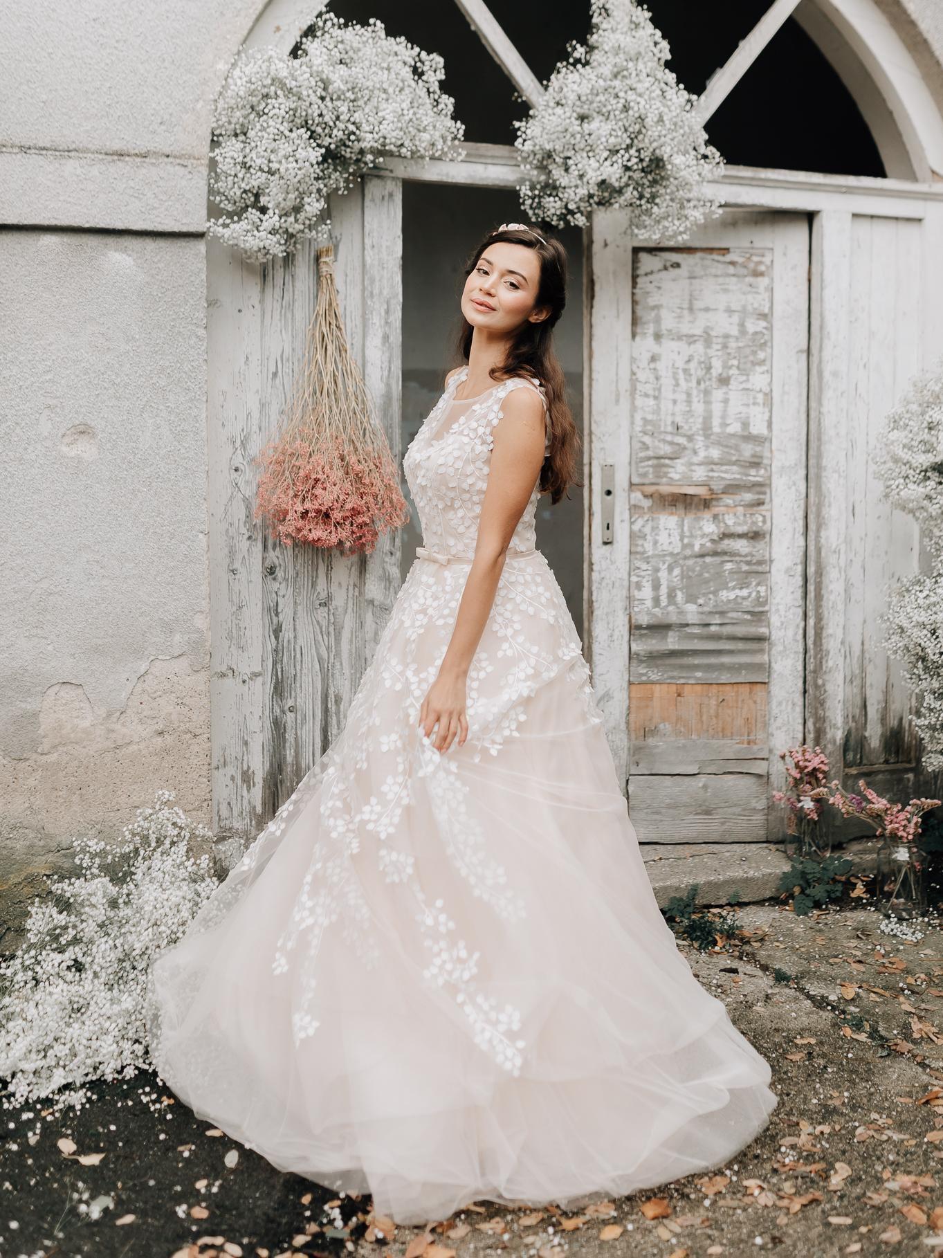 Čarobna nova kolekcija vilinskih vjenčanica Sandre Haddad