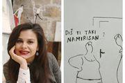 Omiljena hrvatska slikarica: 'Treba raditi samo ono što te veseli, treba slušati srce i to nije fraza!'