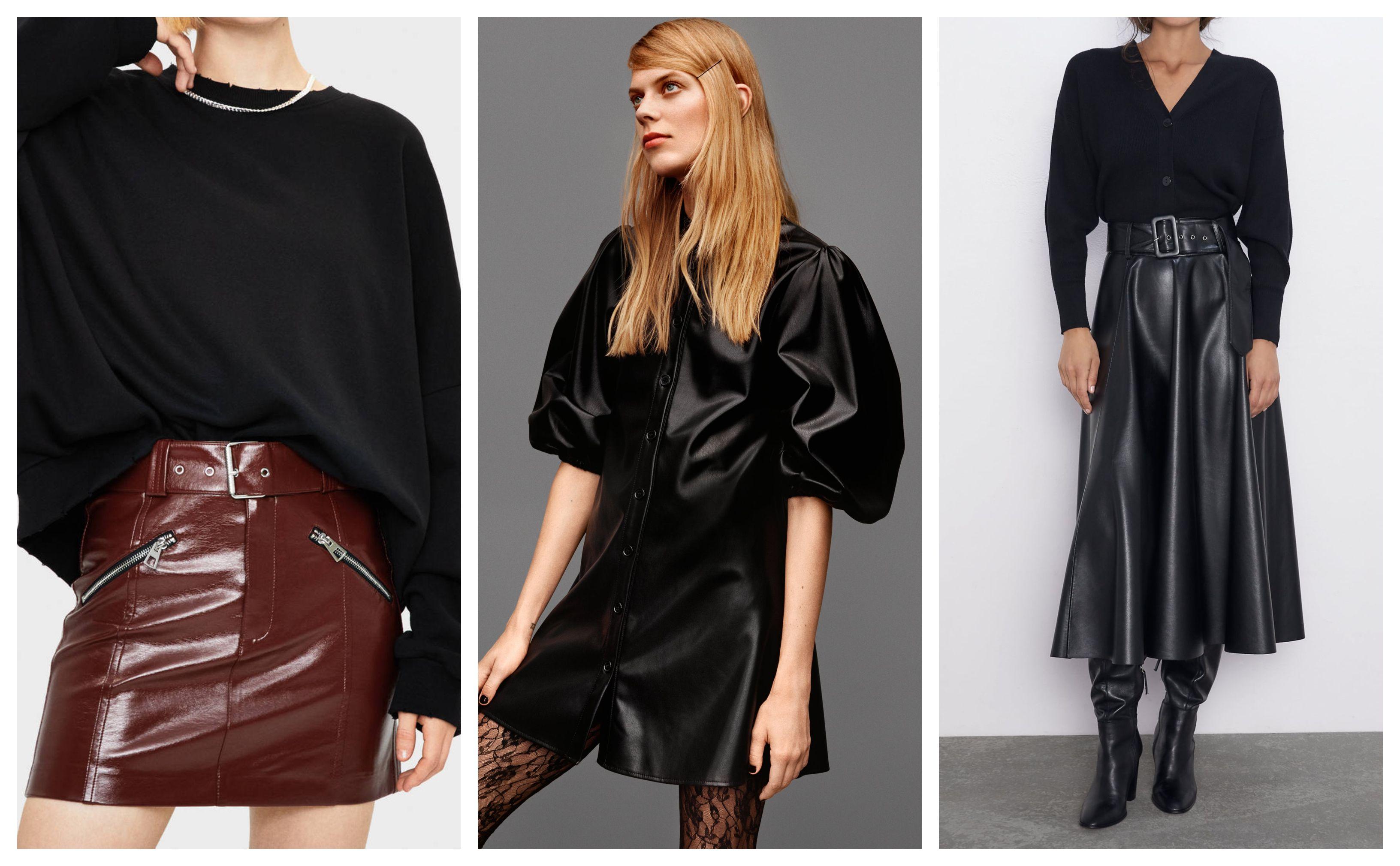 Kožnate suknje i haljine trend su koji ove godine ne možete zaobići: Pogledajte izbor u dućanima