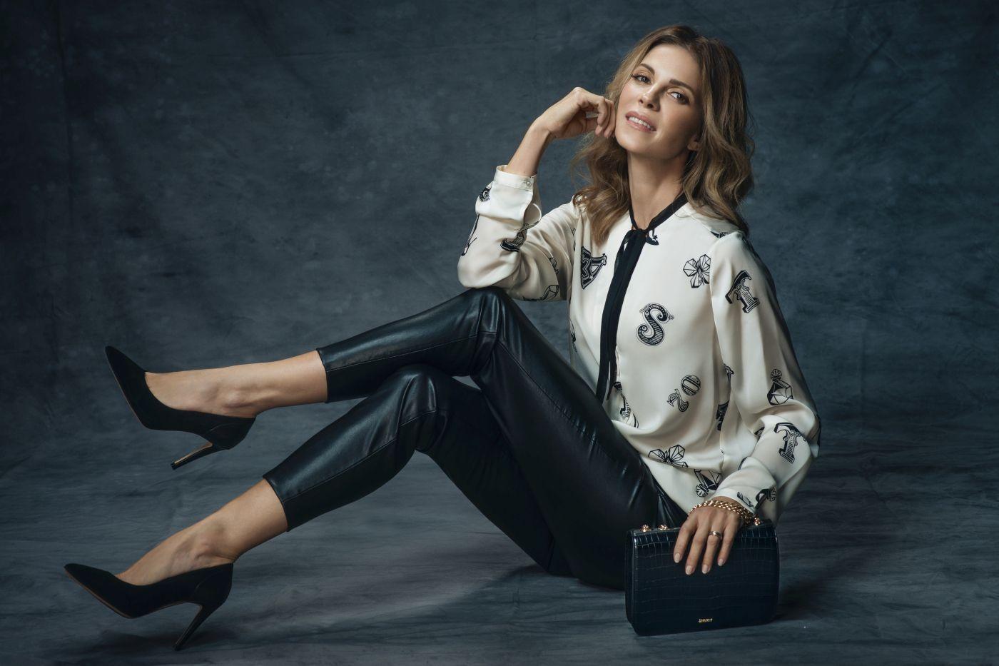 Bojana Gregorić u ulozi modela