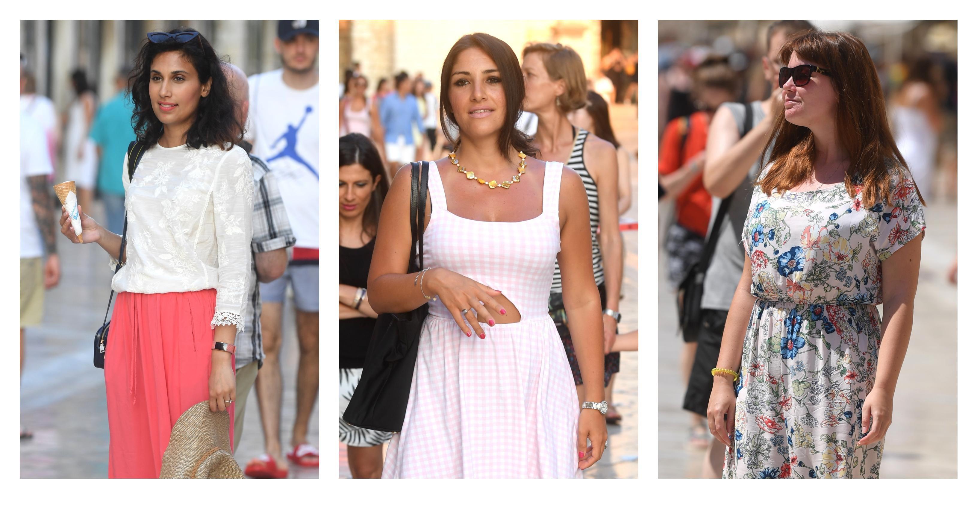 Ma, samo neka je lepršavo! Atraktivne cure u Dubrovniku znaju što najbolje pristaje uz preplanulu put