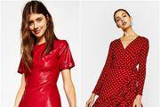 Zaboravite na malu crnu haljinu - crvena je novi hit ove zime!