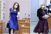 Petir odabrala lepršava haljnu primjereniju ljetnom partyju, a savjetnica za Selak ima skladnije modno rješenje