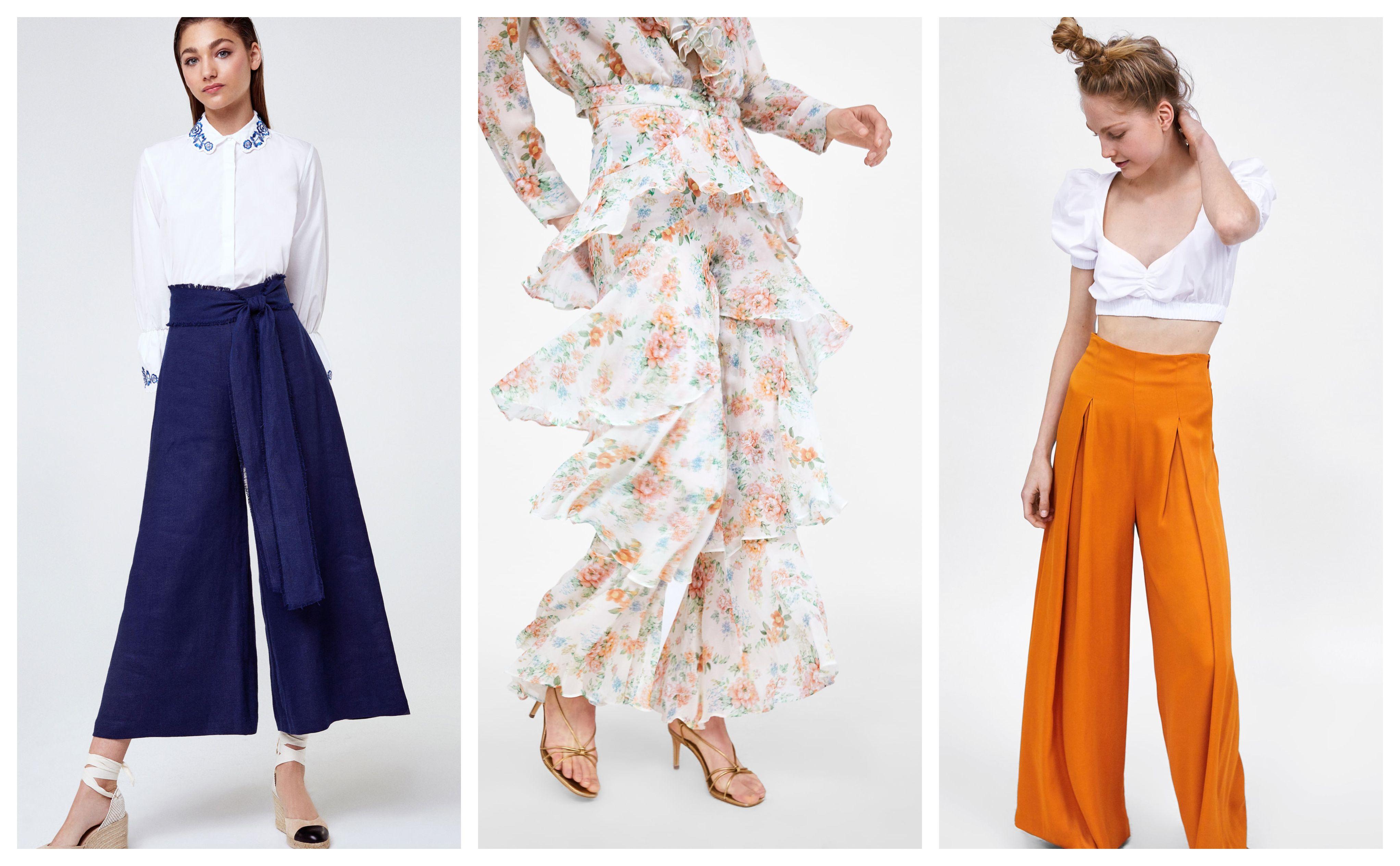 Za ovo ljeto sve što vam treba je jedan par širokih hlača