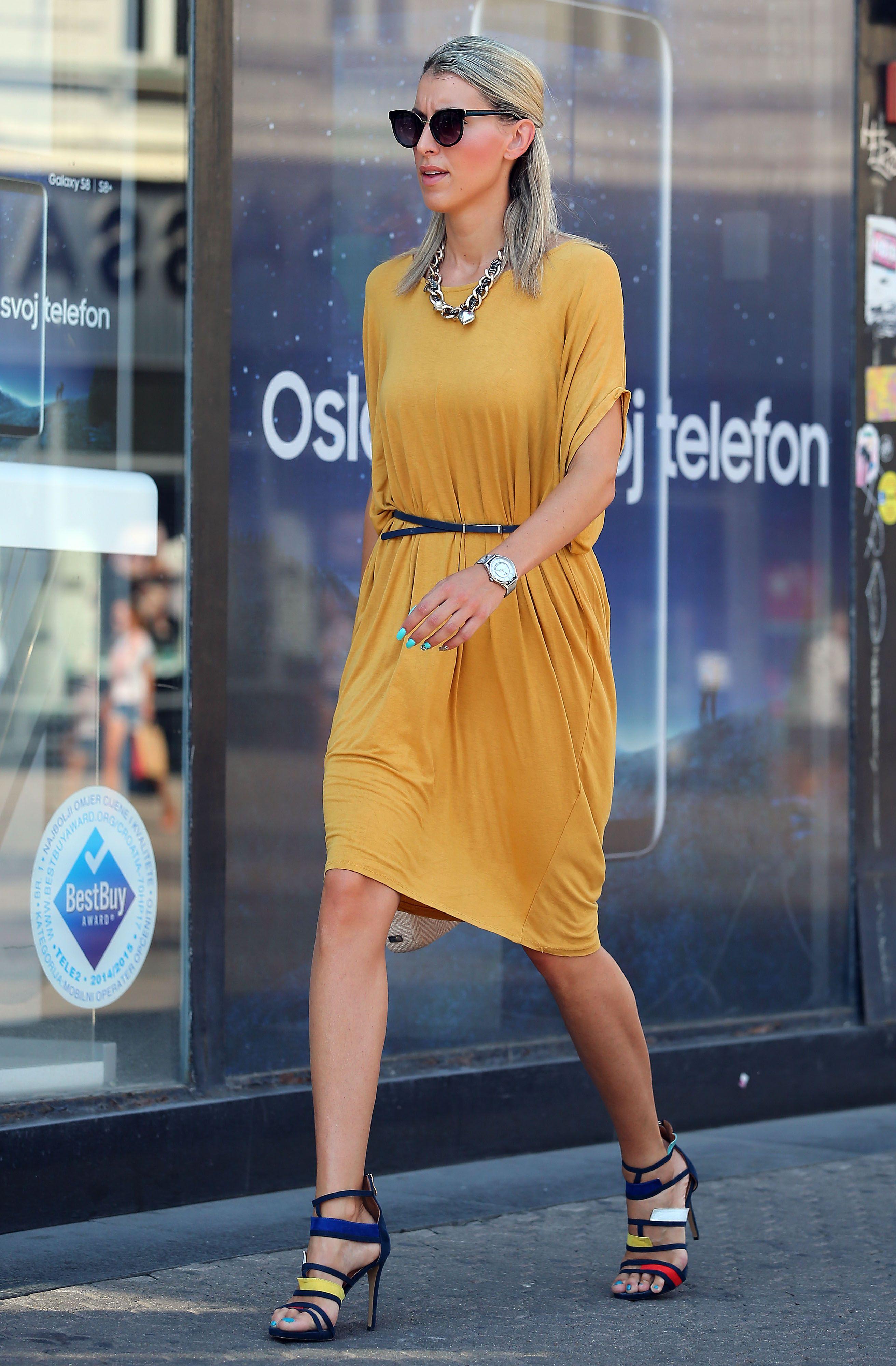 Ova je dama u neobičnim sandalama bila glavna zvijezda zagrebačke špice