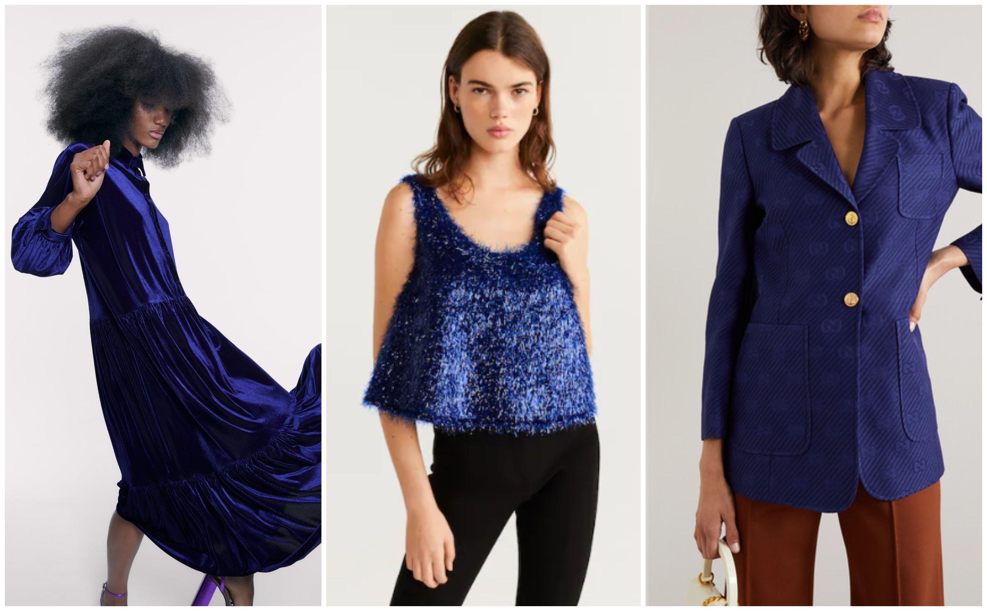 Izdvojili smo najljepše odjevne komade u tamnoplavoj boji koja će dominirati u nadolazećoj sezoni