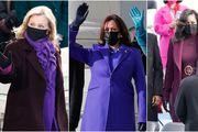 Zašto Clinton, Harris i Obama danas nose ljubičastu? Evo što bi mogao značiti odabir te upečatljive boje