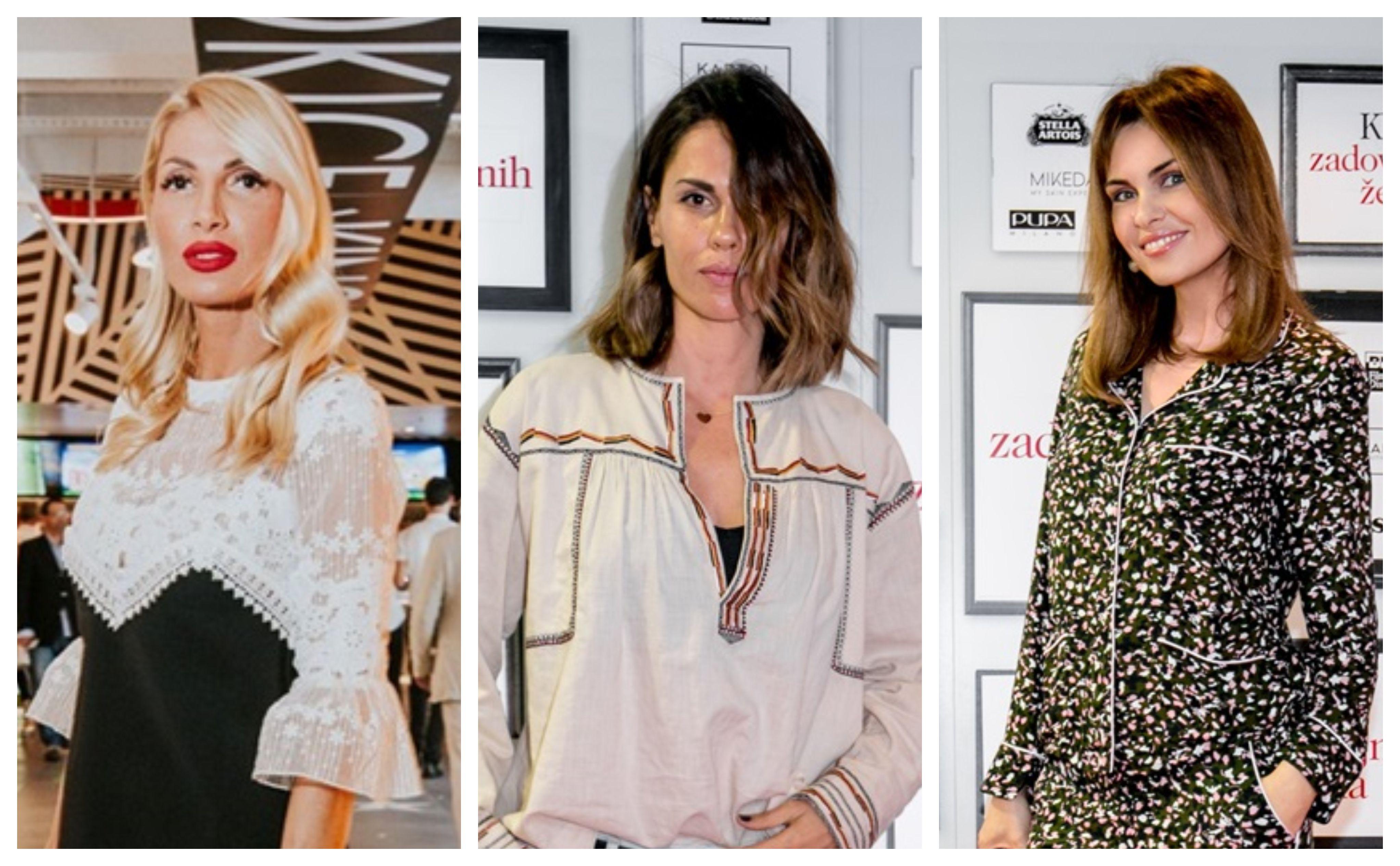 Ana Čagalj, Viktorija Rađa i Branka Krstulović u najvećim trendovima sezone