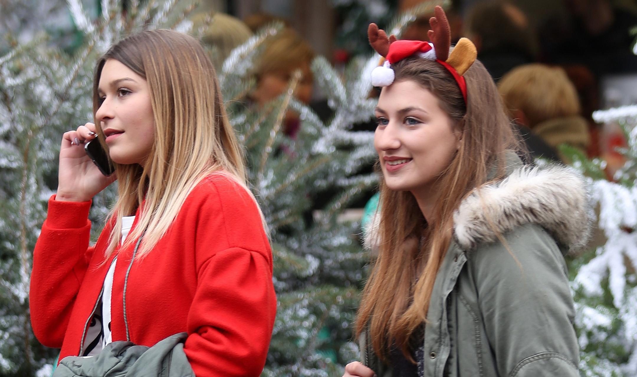 Ove dvije prijateljice baš su razveselile zagrebačku špicu!