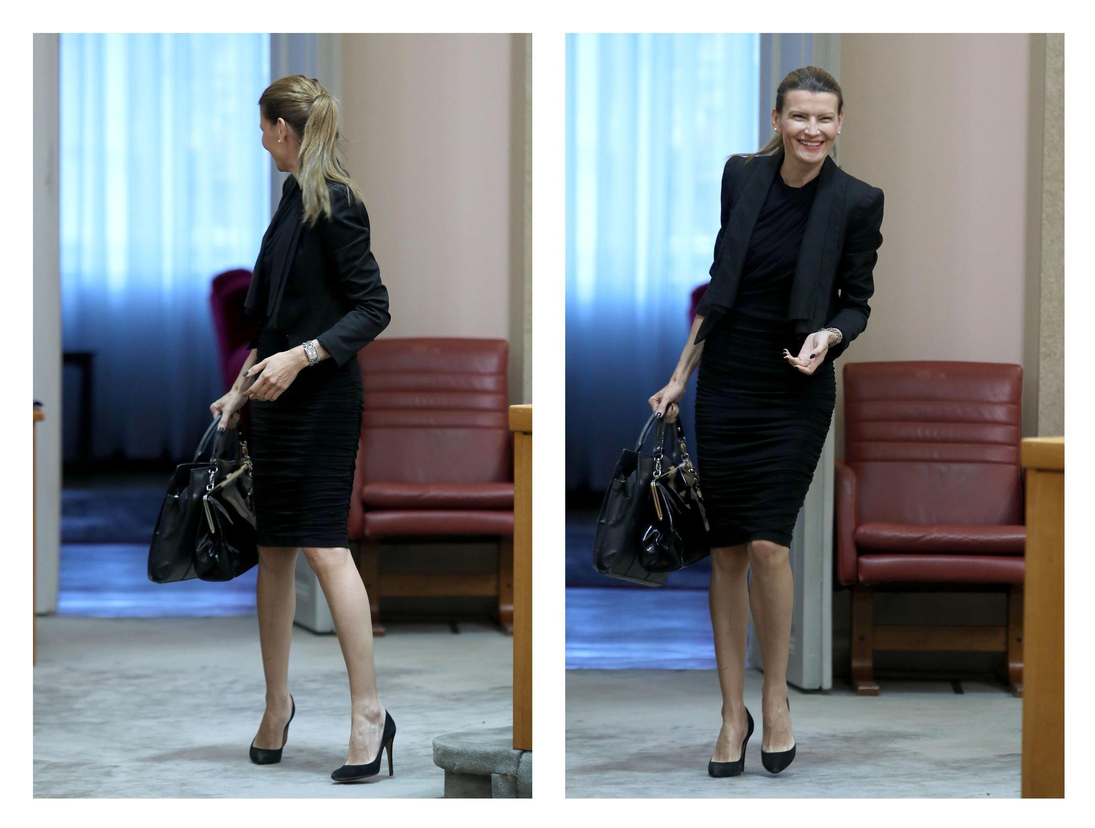 Sabina Glasovac: Zastupnica zna kako večernju haljinu nositi u poslovnim prigodama