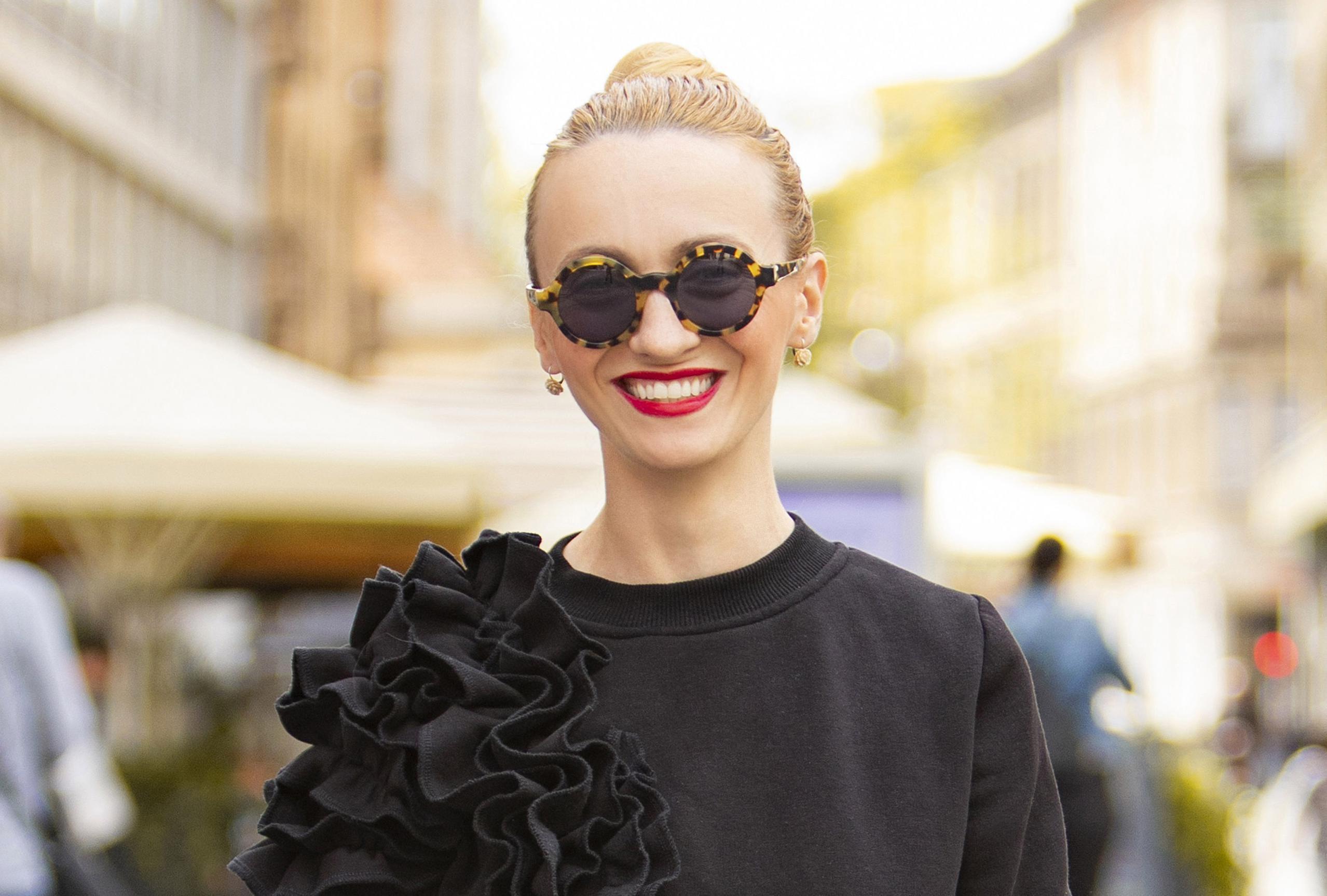 Ona ima skroz drugačiju modnu filozofiju: 'Zimi nosim šarenilo, a ljeti crno i bijelo'