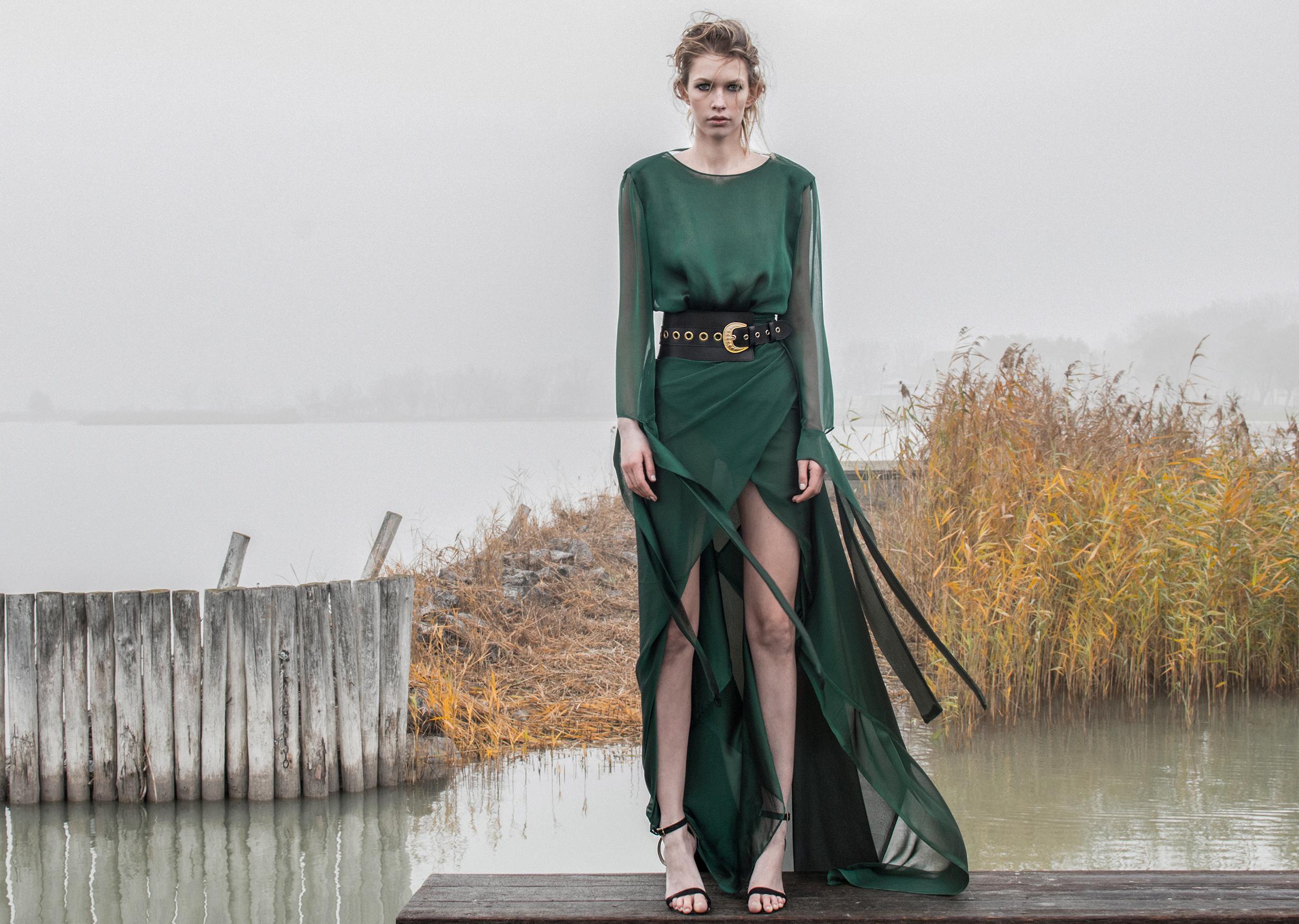 Talentirane dizajnerice brenda Mateyaneira snimile kampanju u predivnoj prirodi nadomak Beča