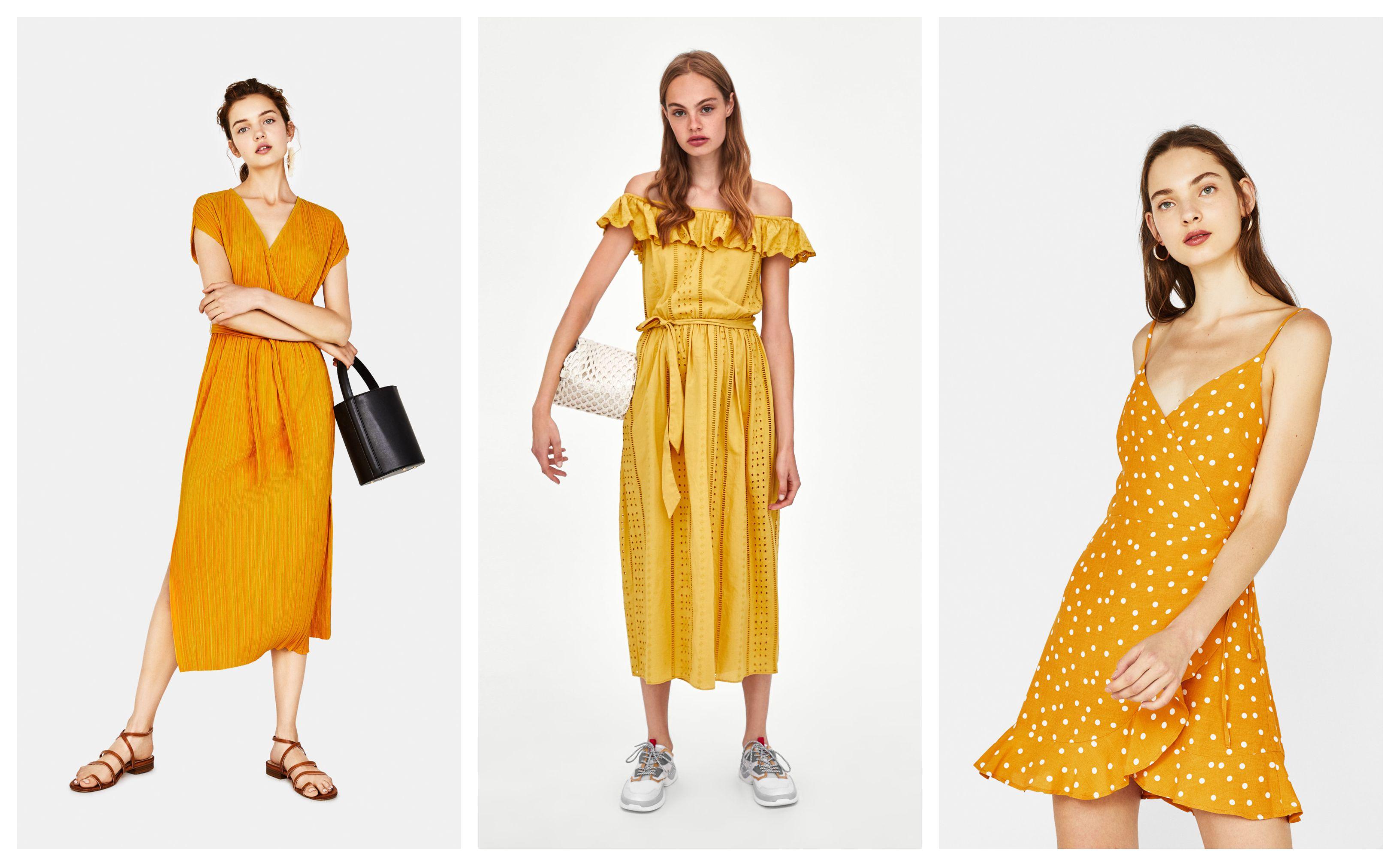Žute poput sunca: Najljepše ljetne haljine u ovoj boji