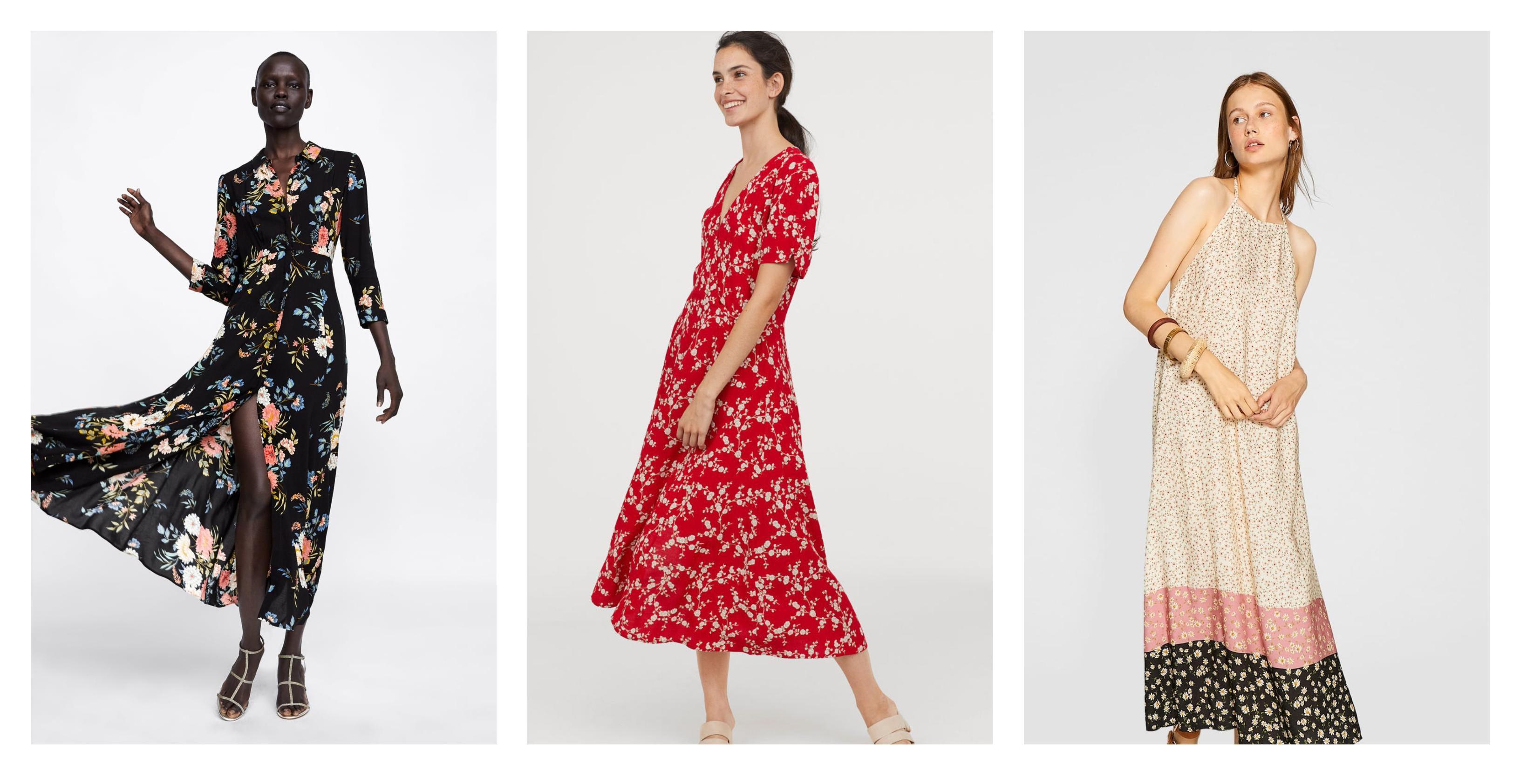 Cvjetni uzorci nam nikad neće dosaditi: Pronašli smo najljepše haljine iz novih kolekcija high street trgovina