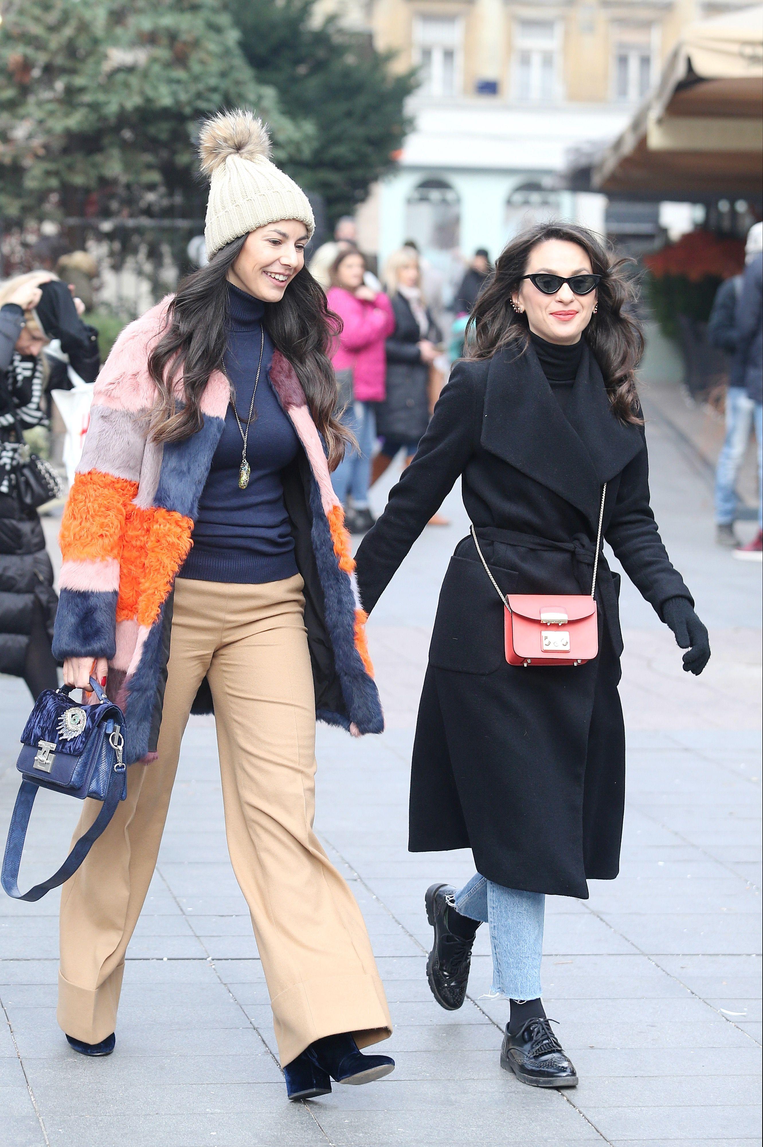 Zgodne, stylish i jako cool: Ove dvije frendice ukrale su pozornost u centru grada!