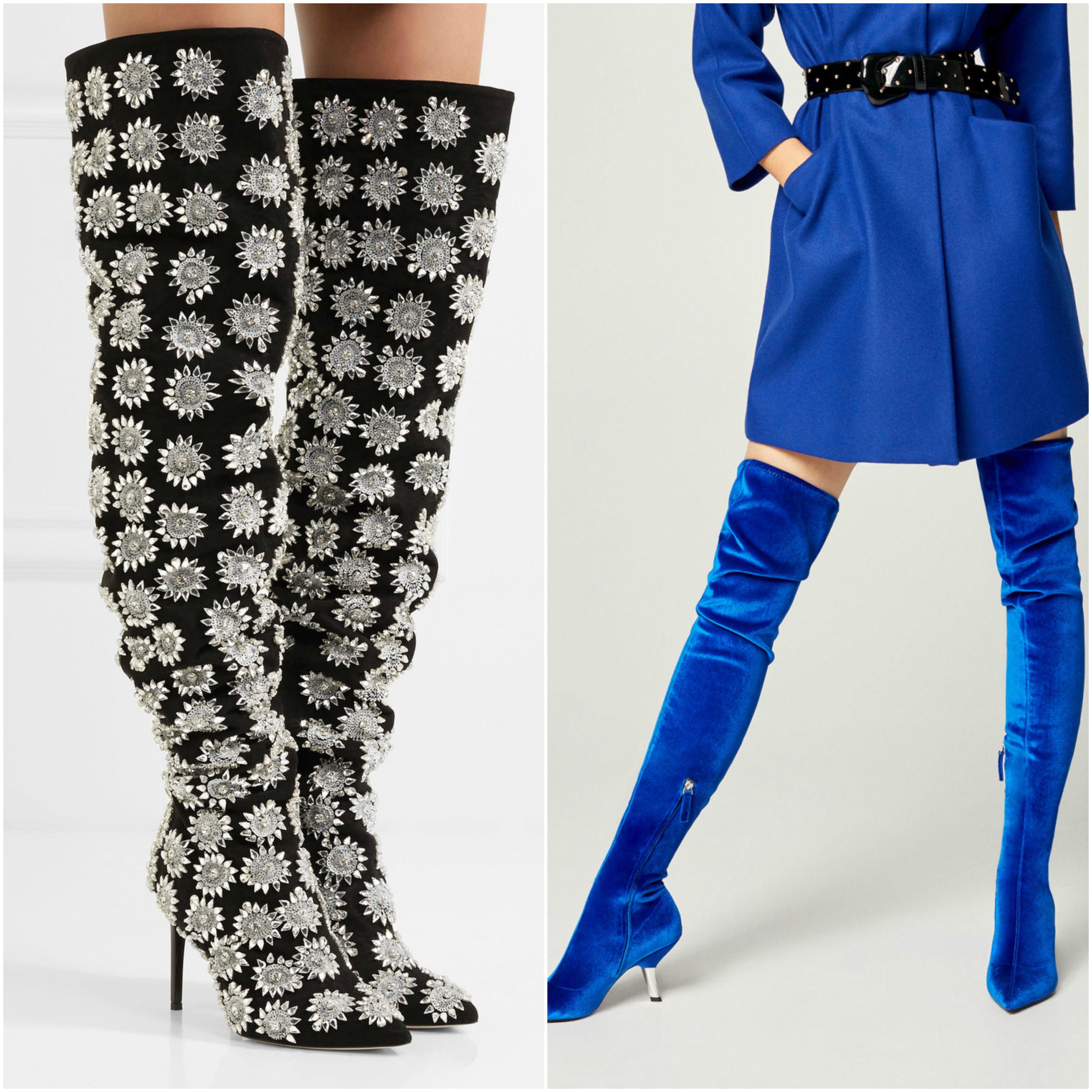 Visoko, najviše: Najljepše čizme do koljena i preko koljena